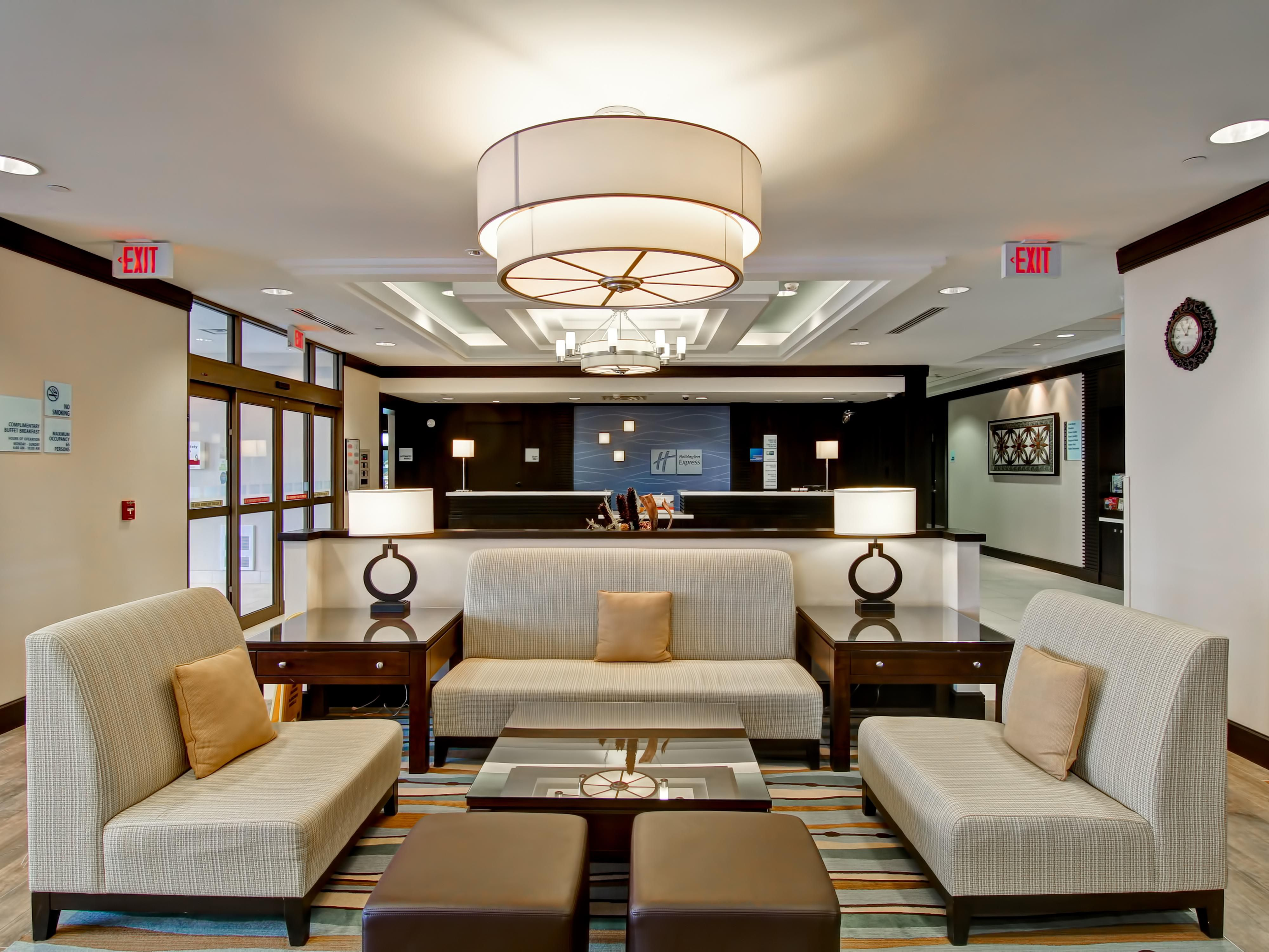 Our Lobby was Honored with the IHG New Development Design Award!