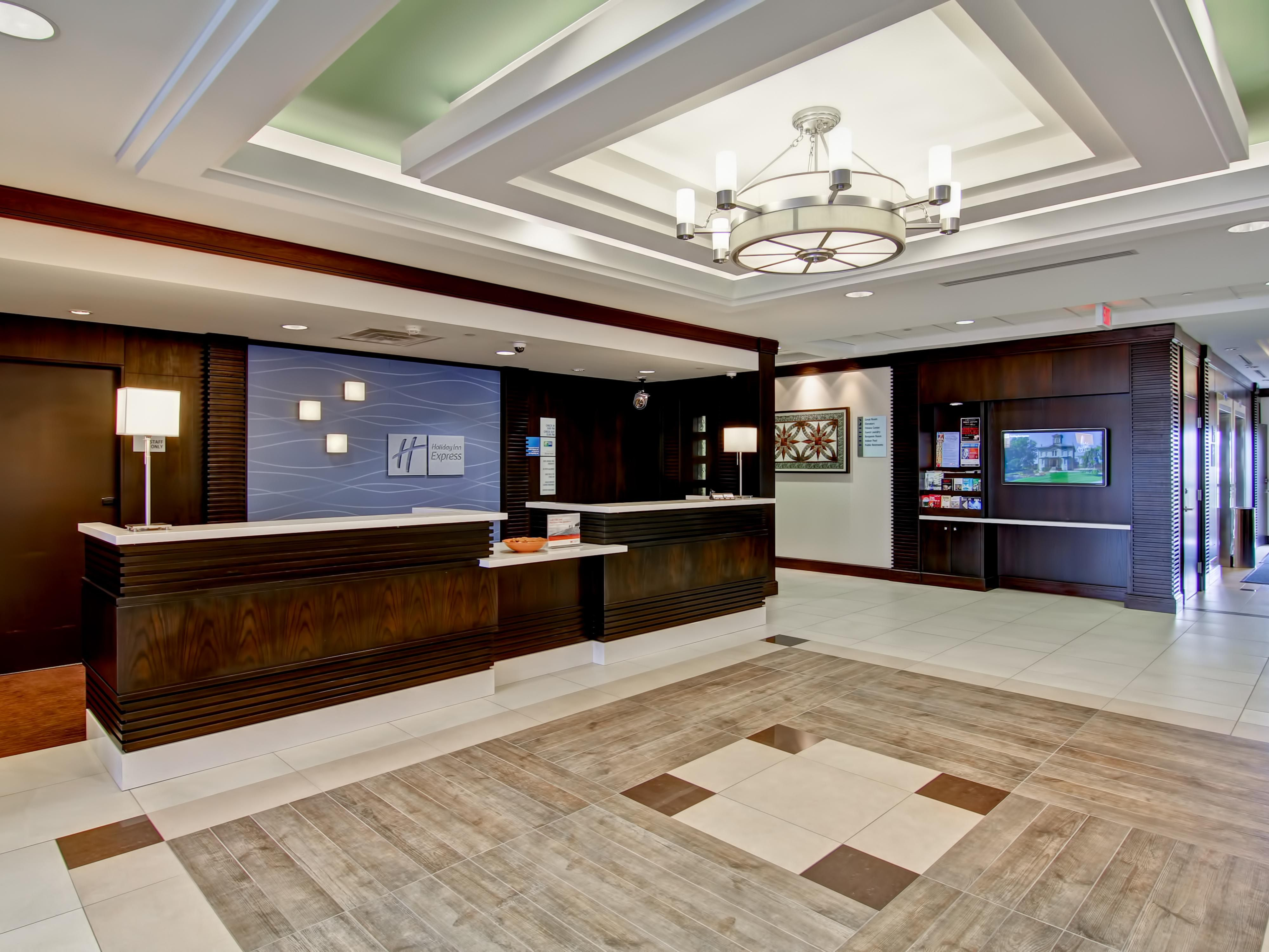 Our Award Winning Lobby won the IHG New Development Design Award
