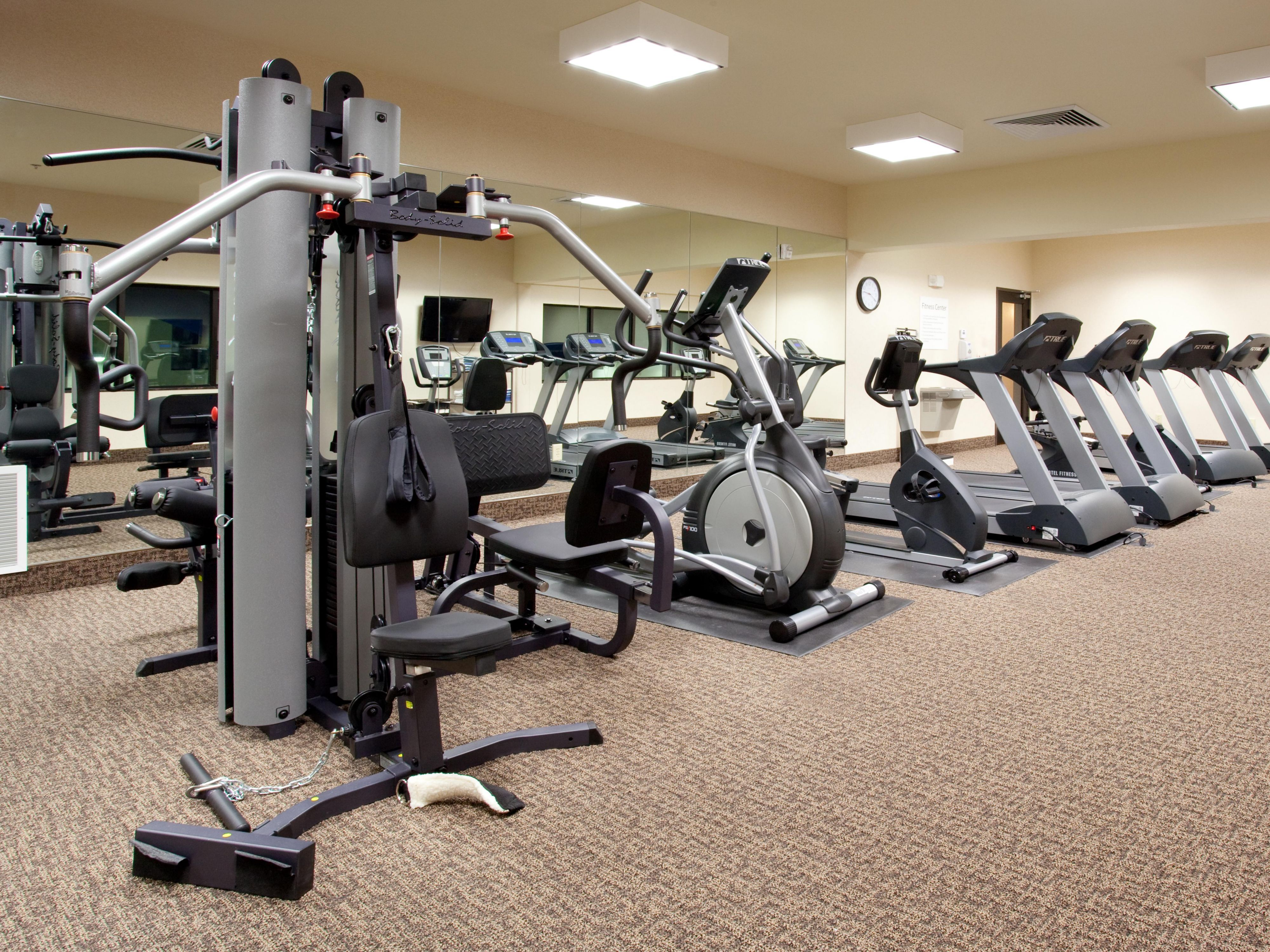 Get a great workout in our Health & Fitness Center