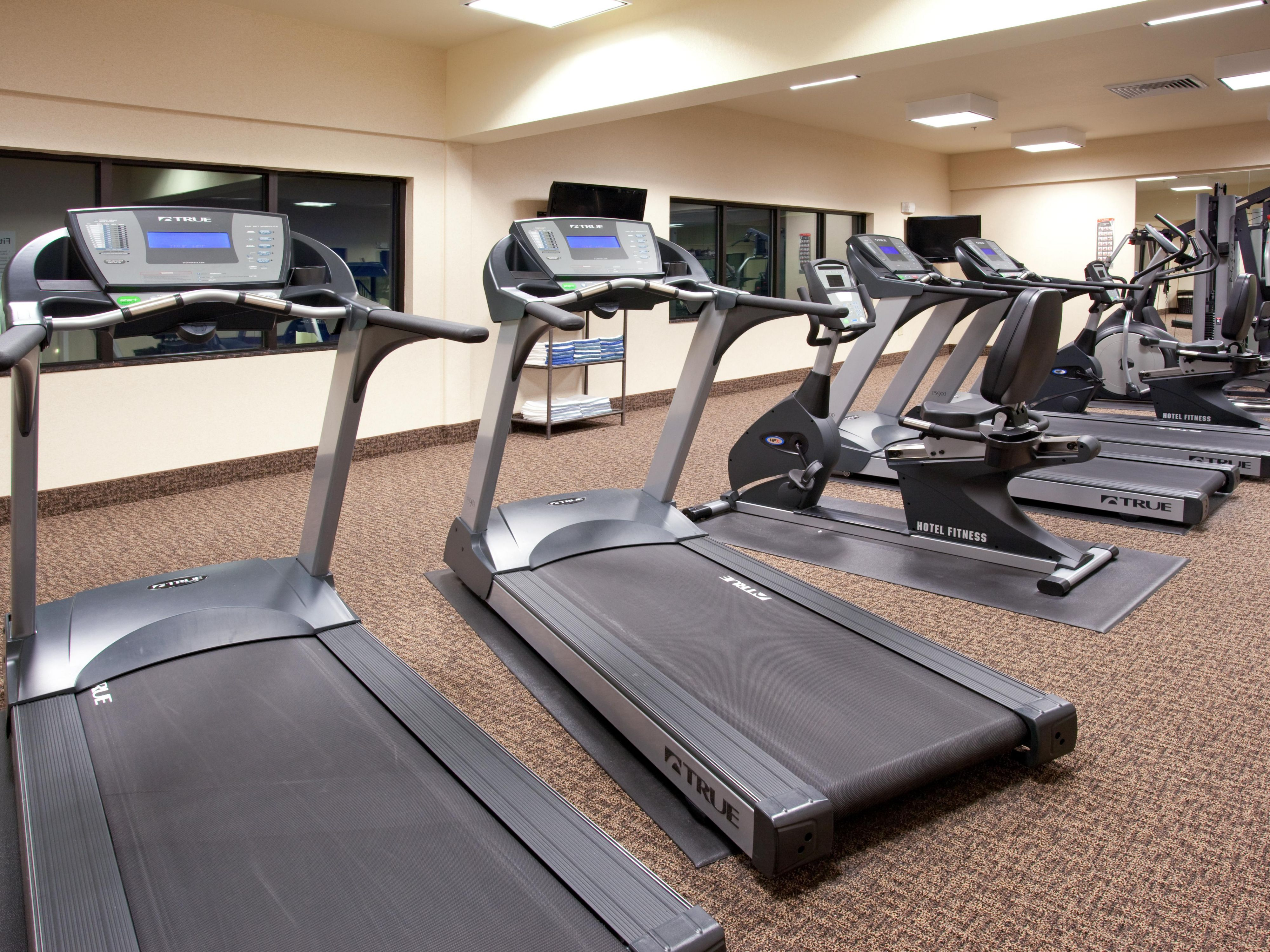 Fitness Center with a great selection of equipment