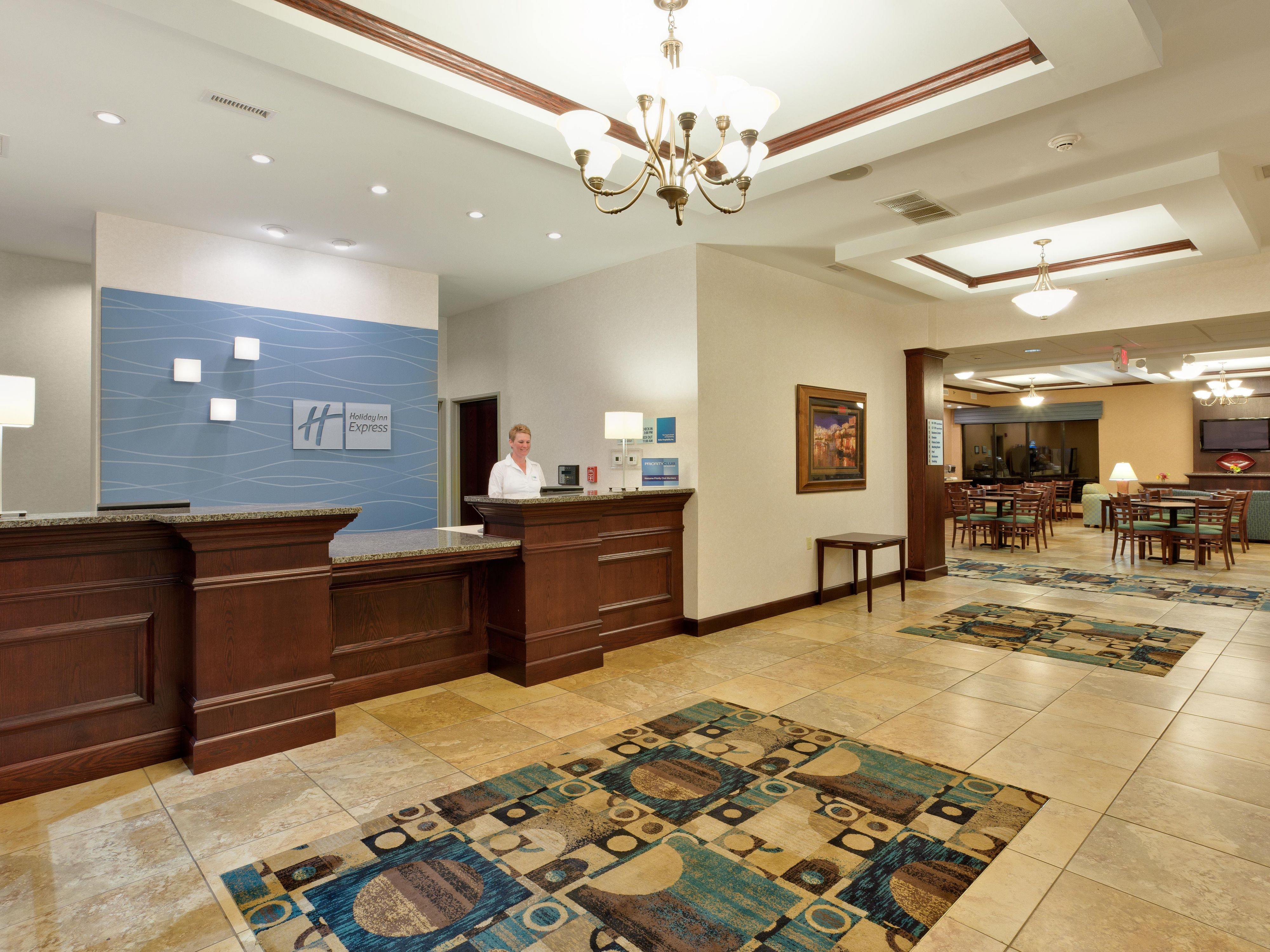 Enjoy an easy checkin in our hotel lobby.