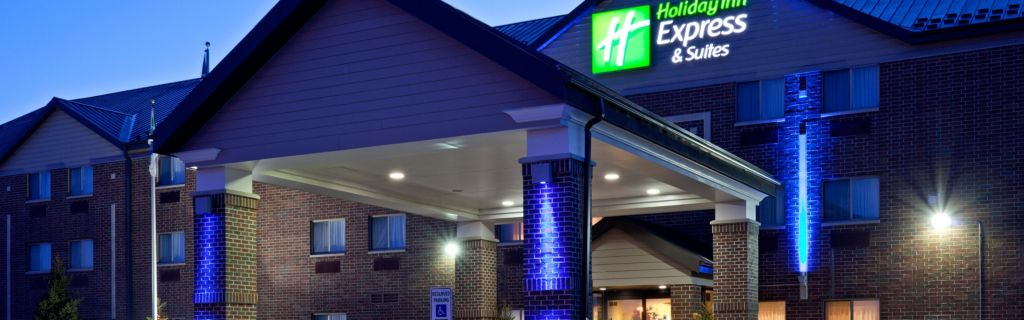 Holiday Inn Express Suites Woodbury Mn Entrance