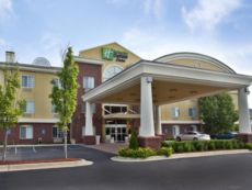 Holiday Inn Express & Suites Woodhaven in Romulus, Michigan