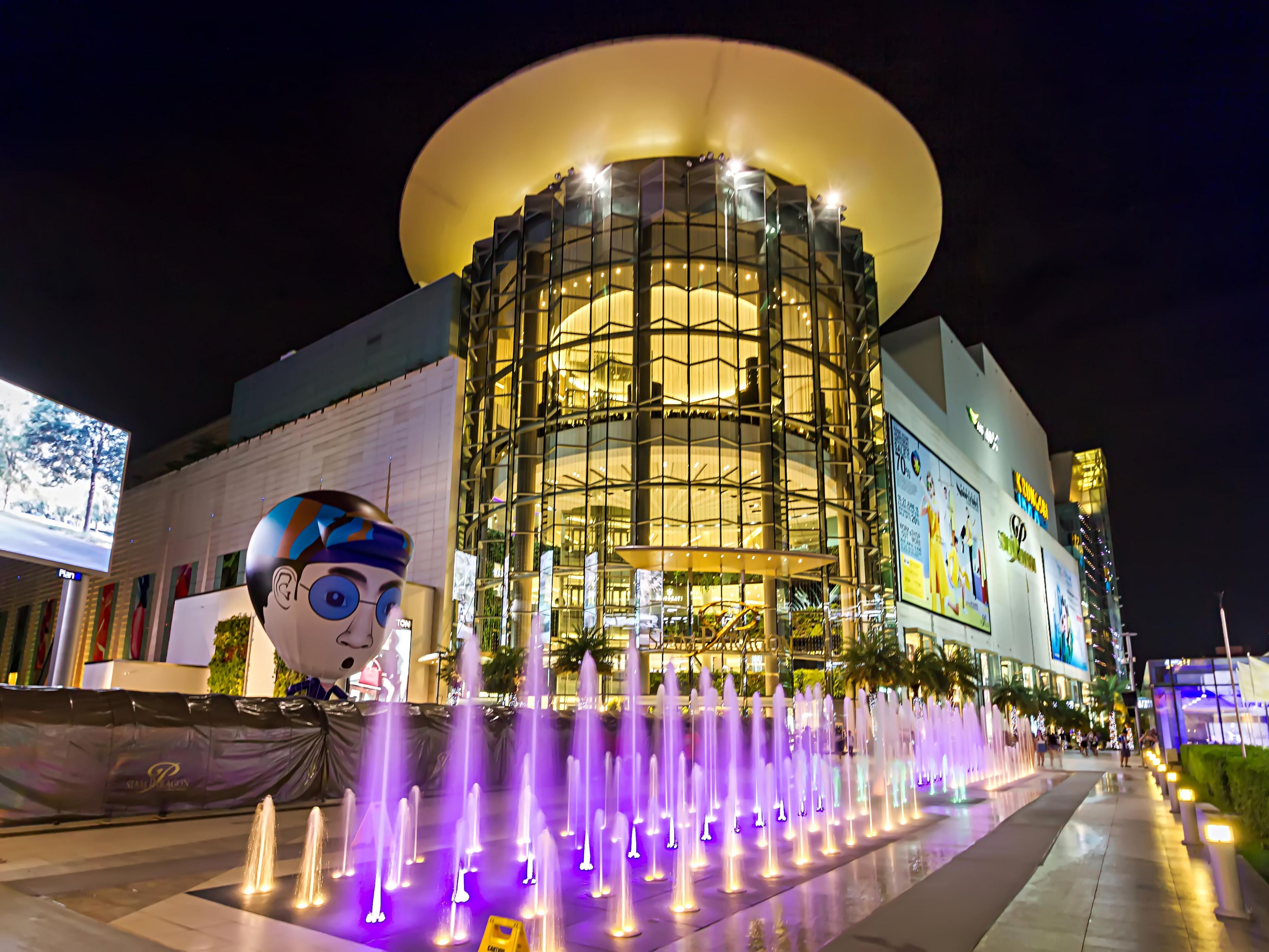 Siam Paragon Shopping Mall-within walking distance from our hotel