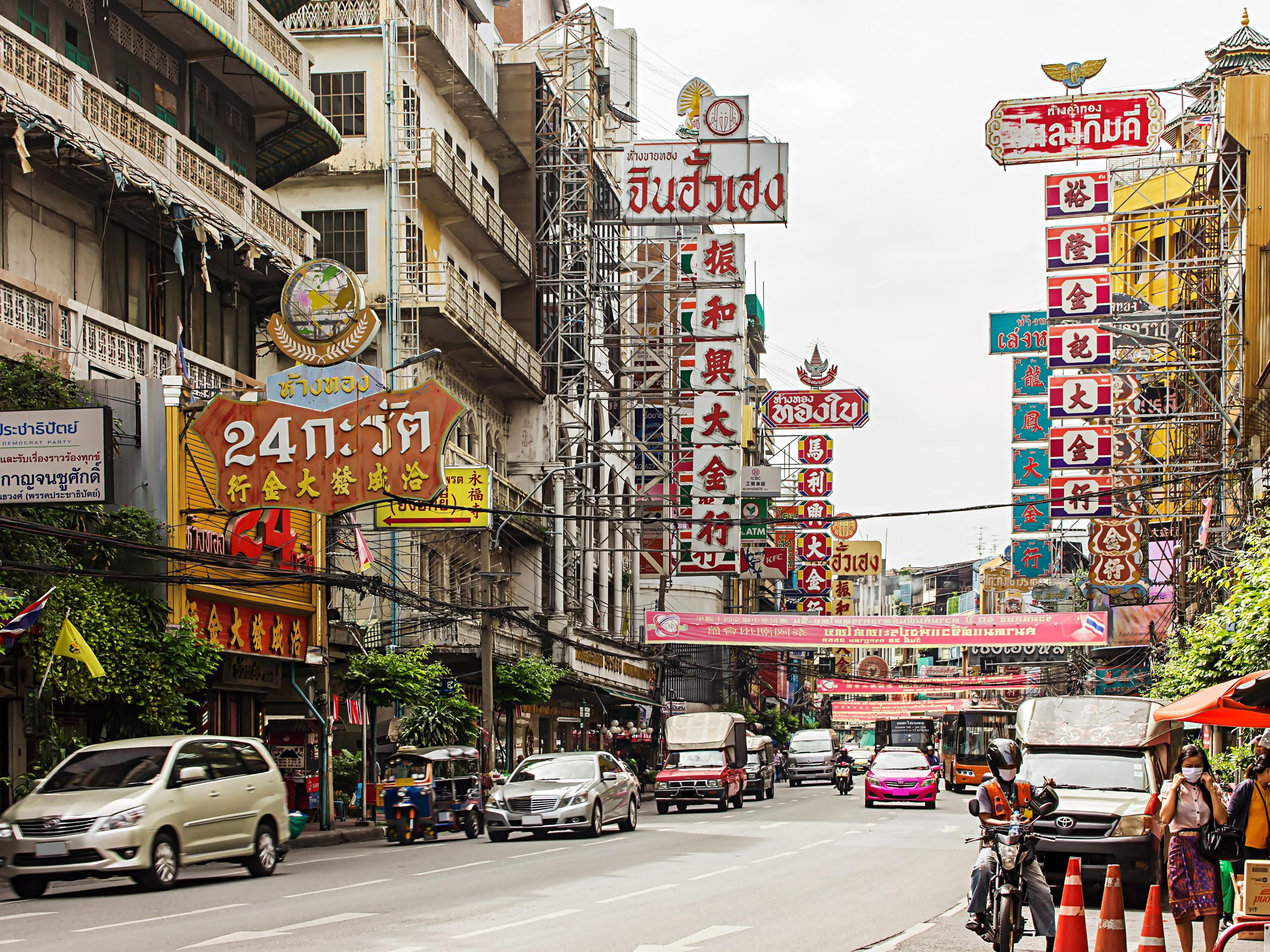 Chinatown, area attraction of Holiday Inn Express Bangkok Siam, Th