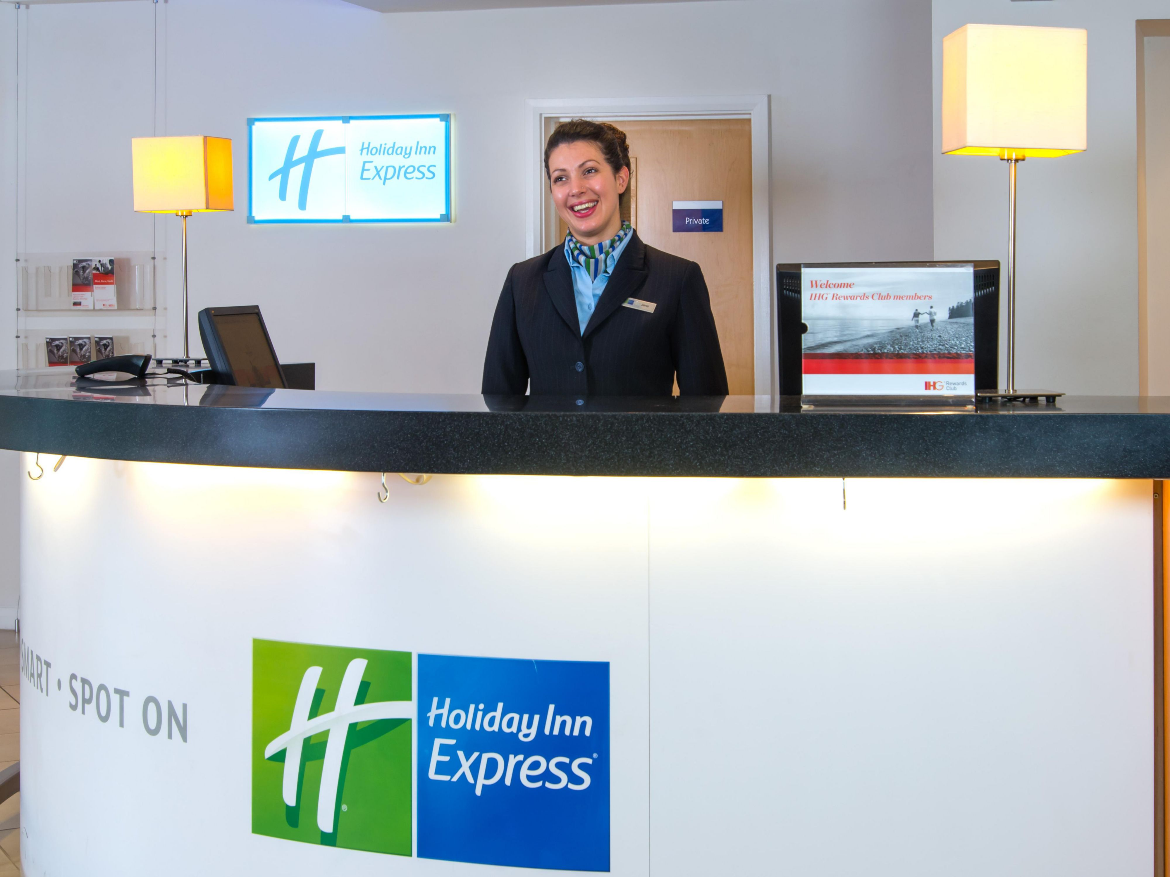Our friendly Reception team are on hand 24/7 for your convenience