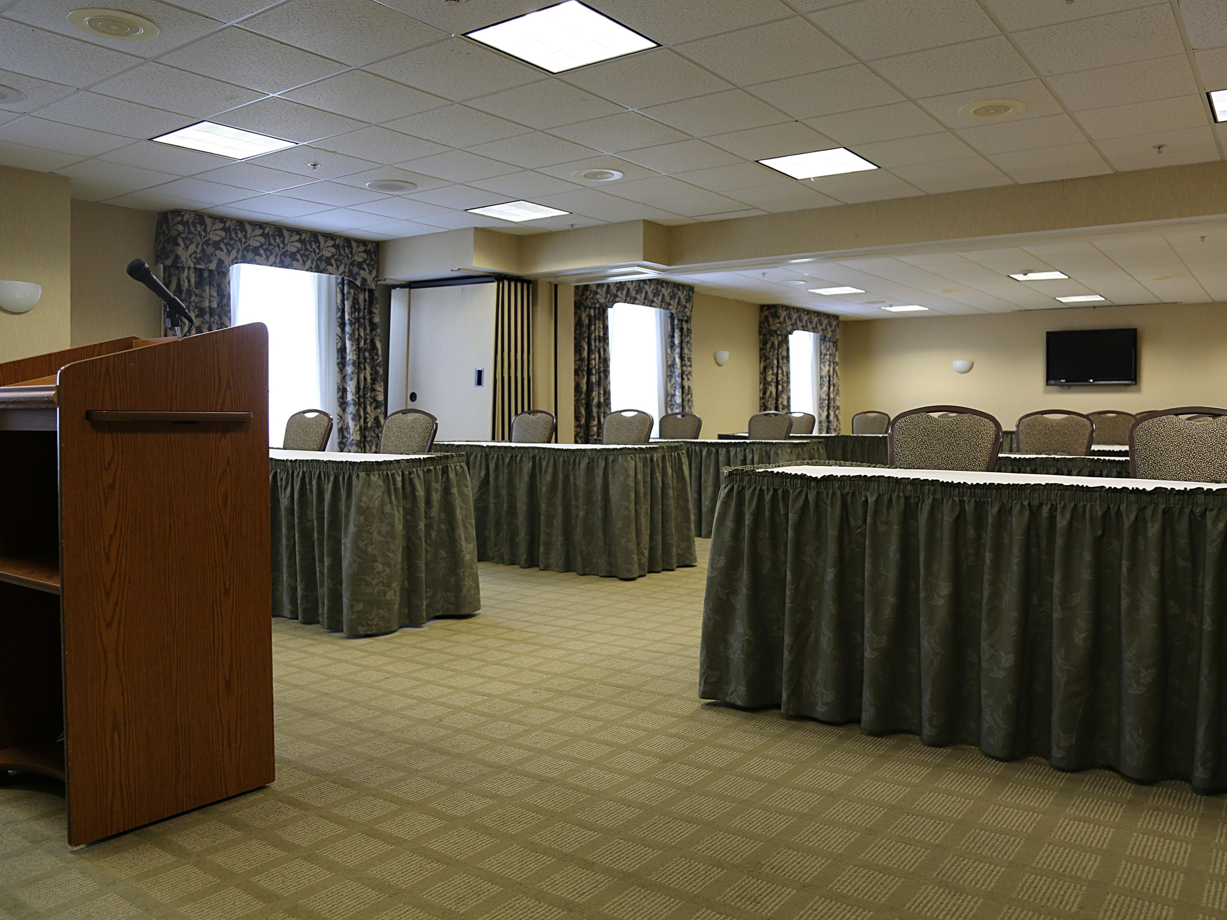Let us help make your next meeting a success.