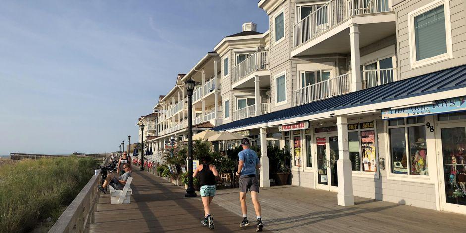 Stroll Along The Charming Bethany Beach Boardwalk