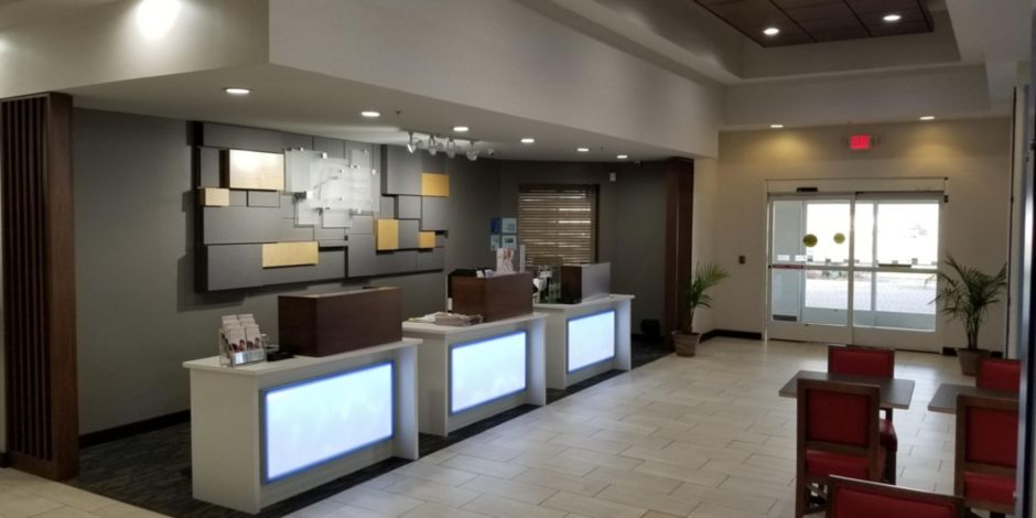 Hotel Lobby Main Entrance