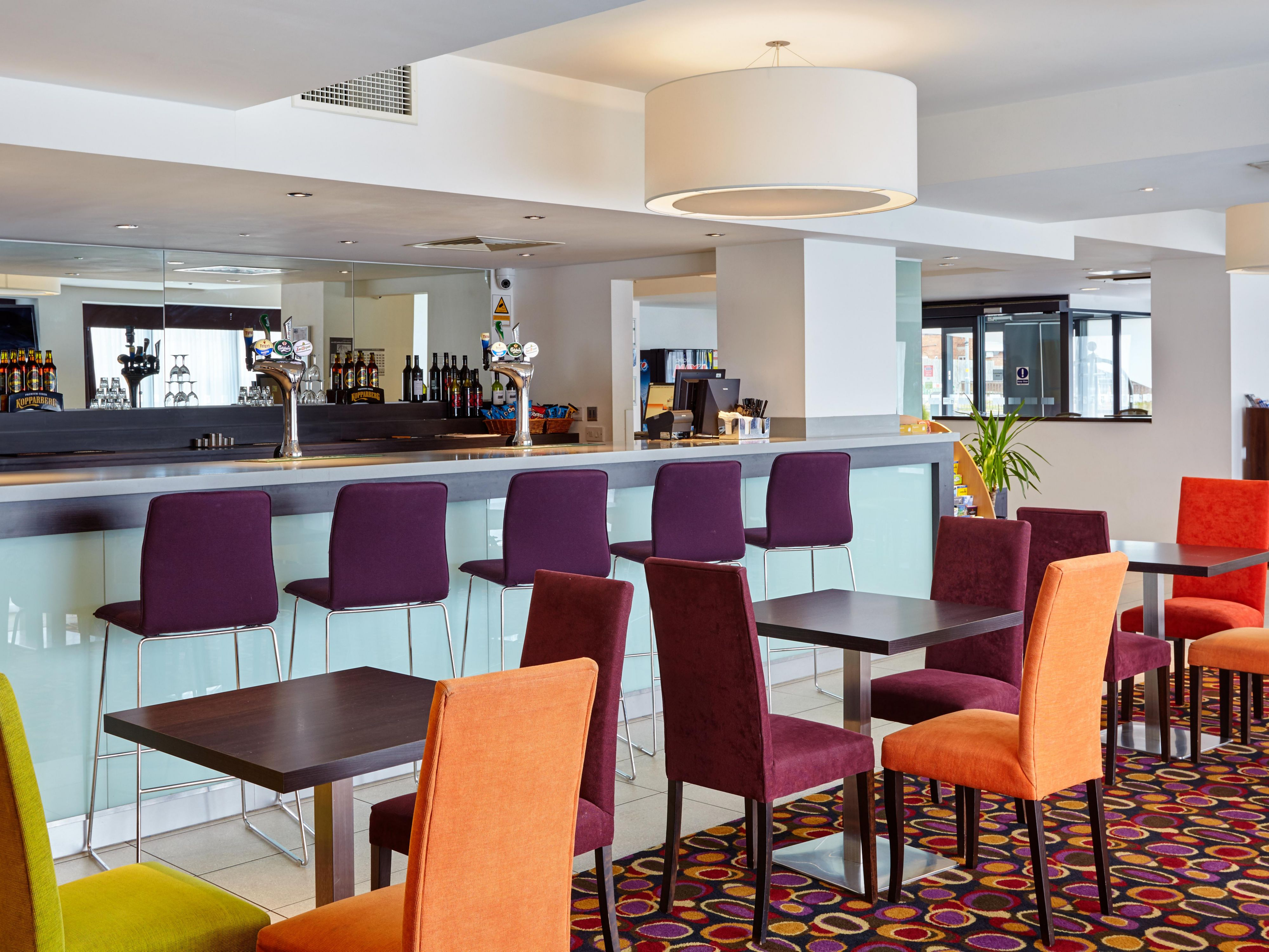 Share a drink with friends at our casual Hotel Bar