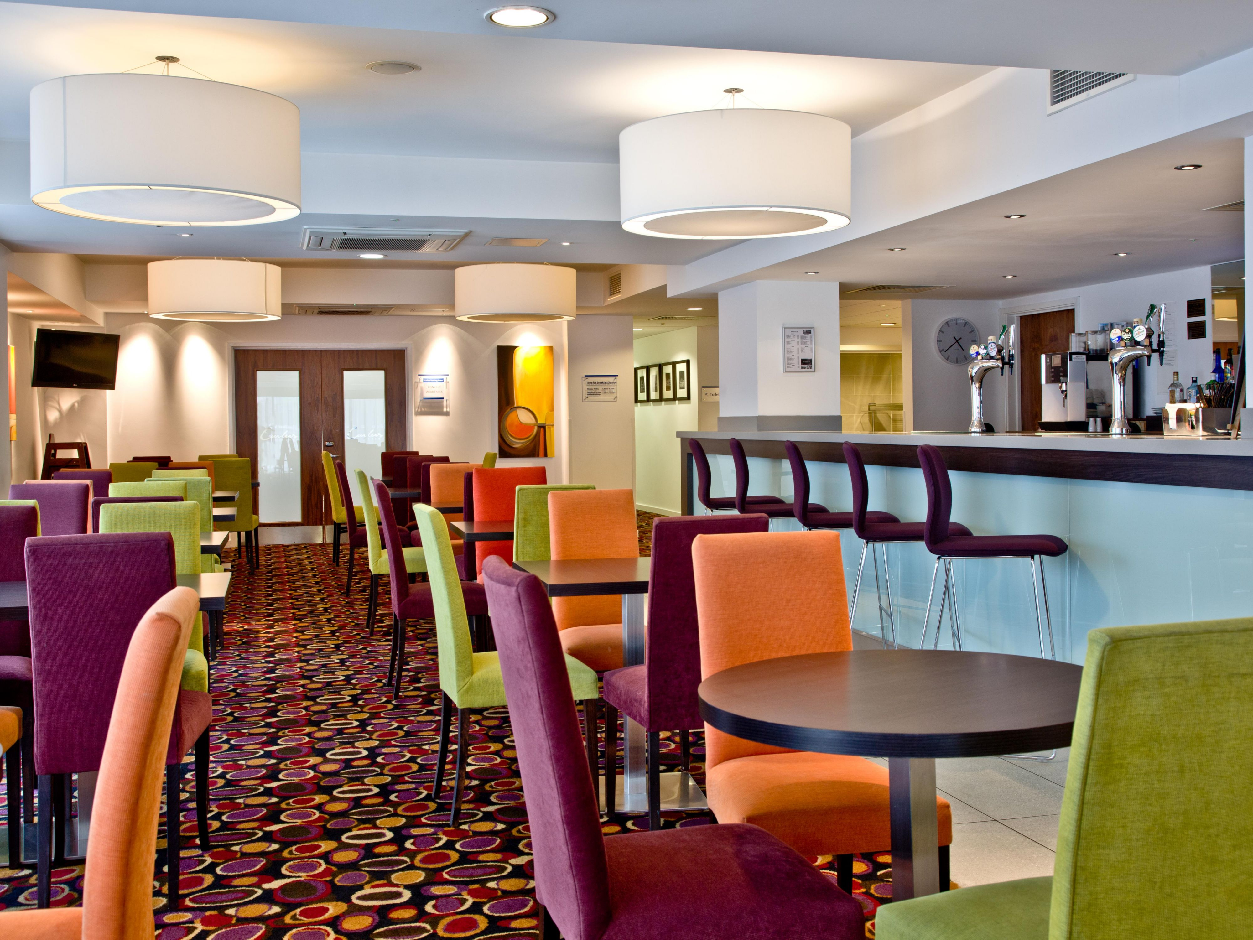 Dine with us any time of day at our hotel Restaurant