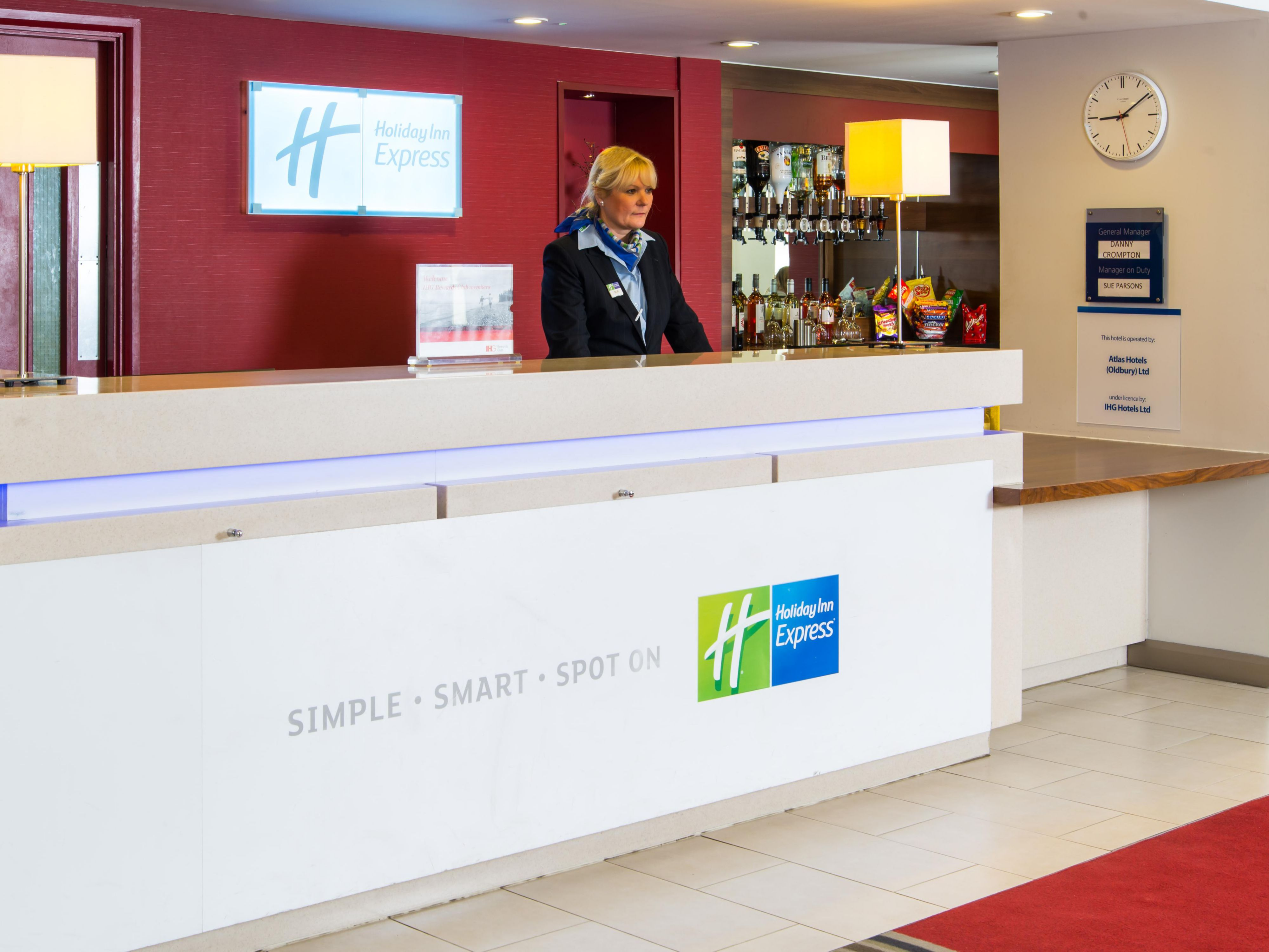 Our friendly Reception team are here for you at all times