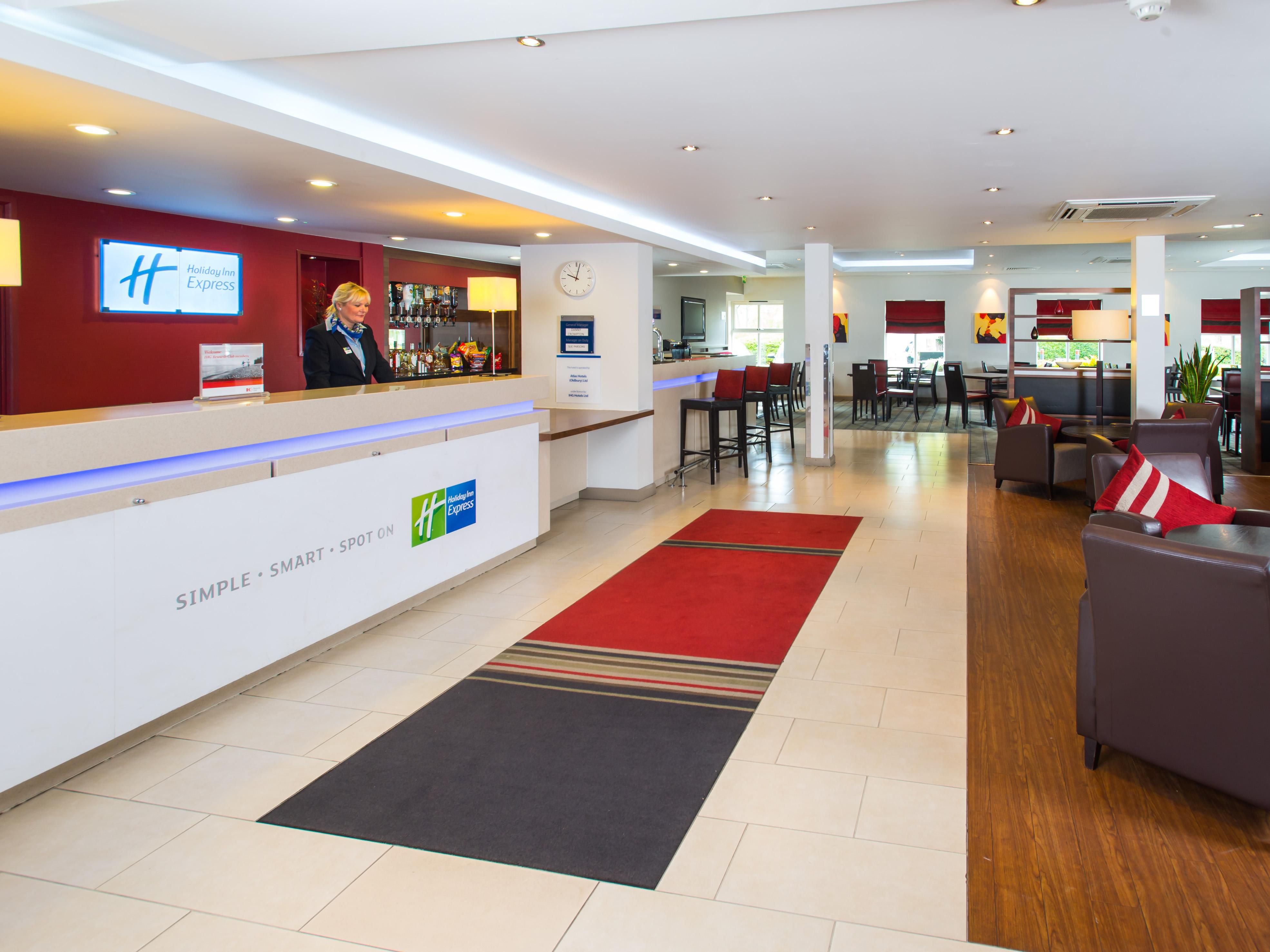 Welcome to Holiday Inn Express Birmingham Oldbury