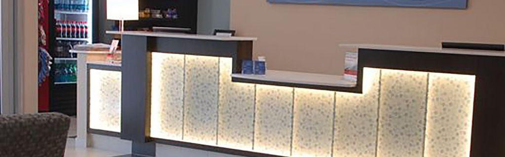 Holiday Inn Express Boise University Front Desk