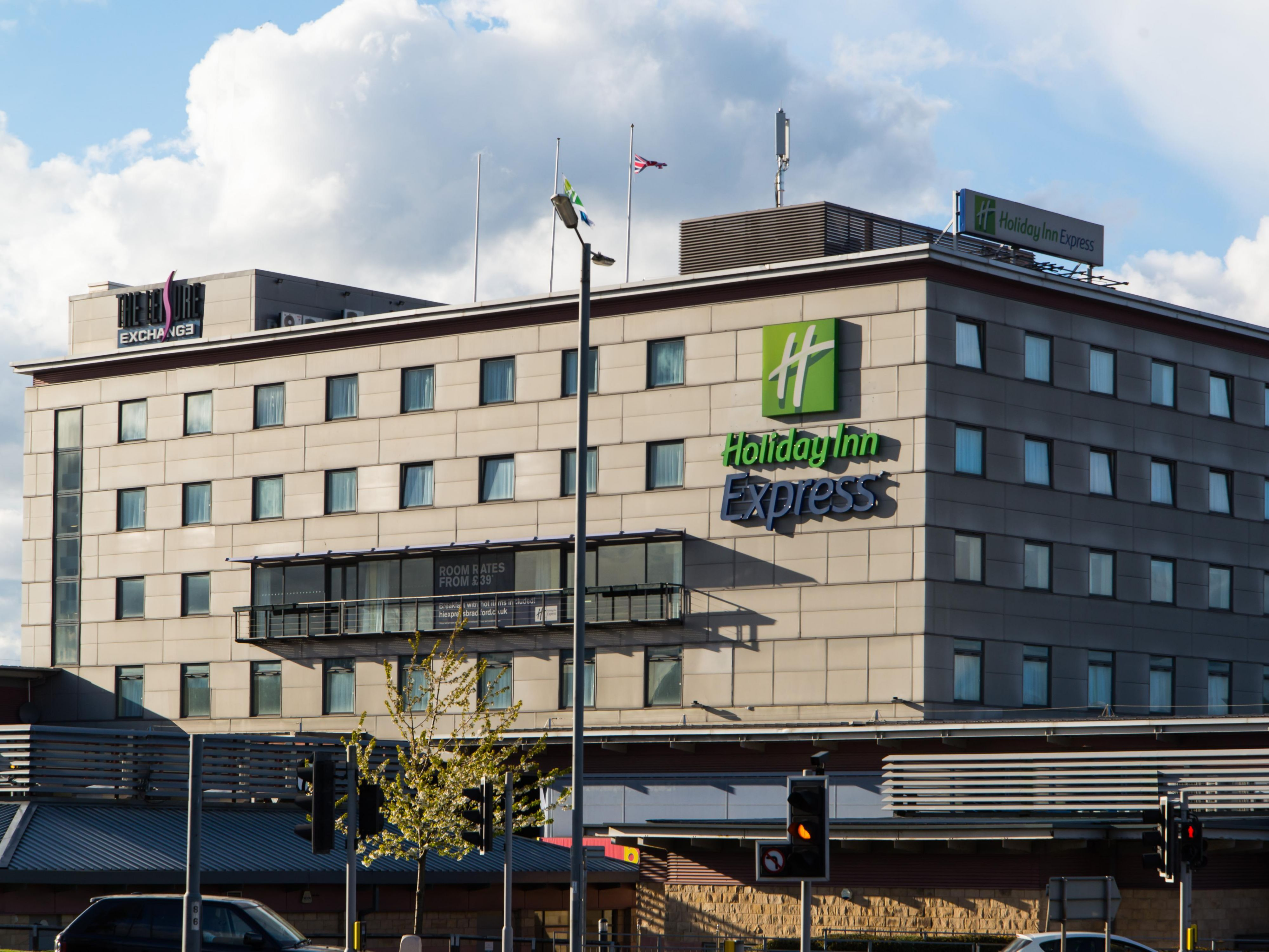 Our Bradford hotel is located in Bradford Leisure Exchange complex