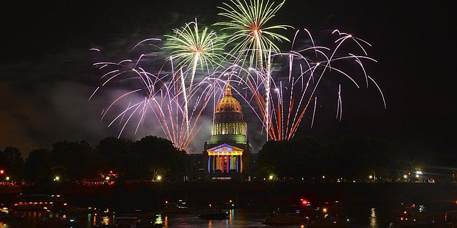 Fourth of July in Charleston, WV