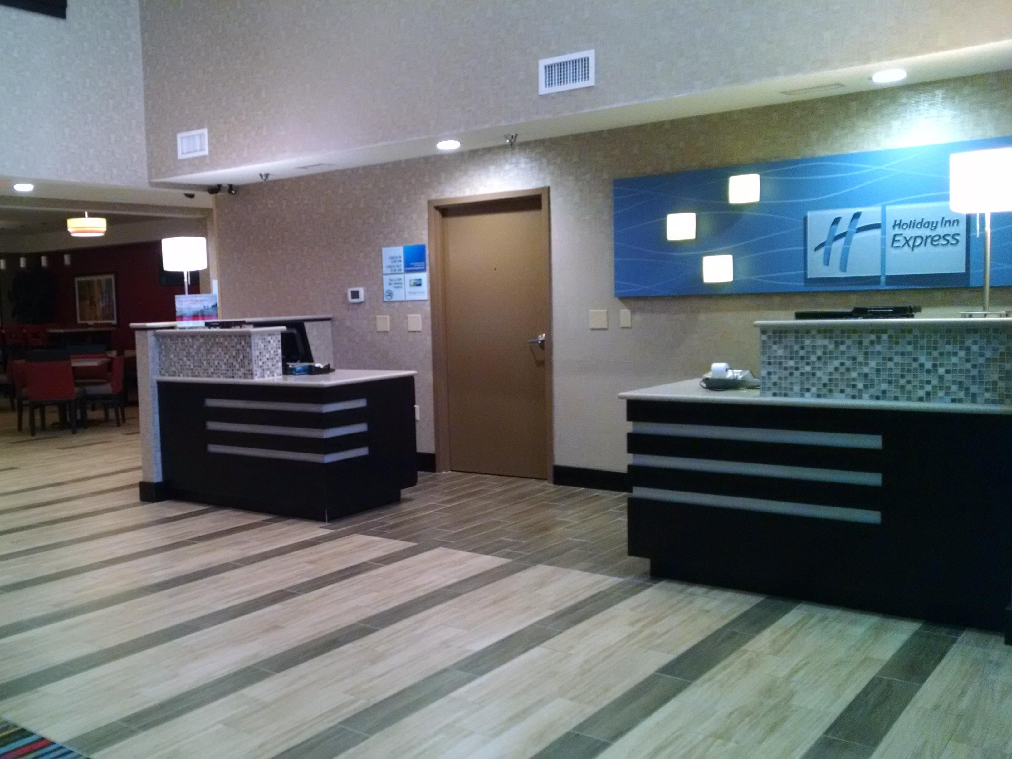 Welcome to the Holiday Inn Express, Cloverdale, Indiana.