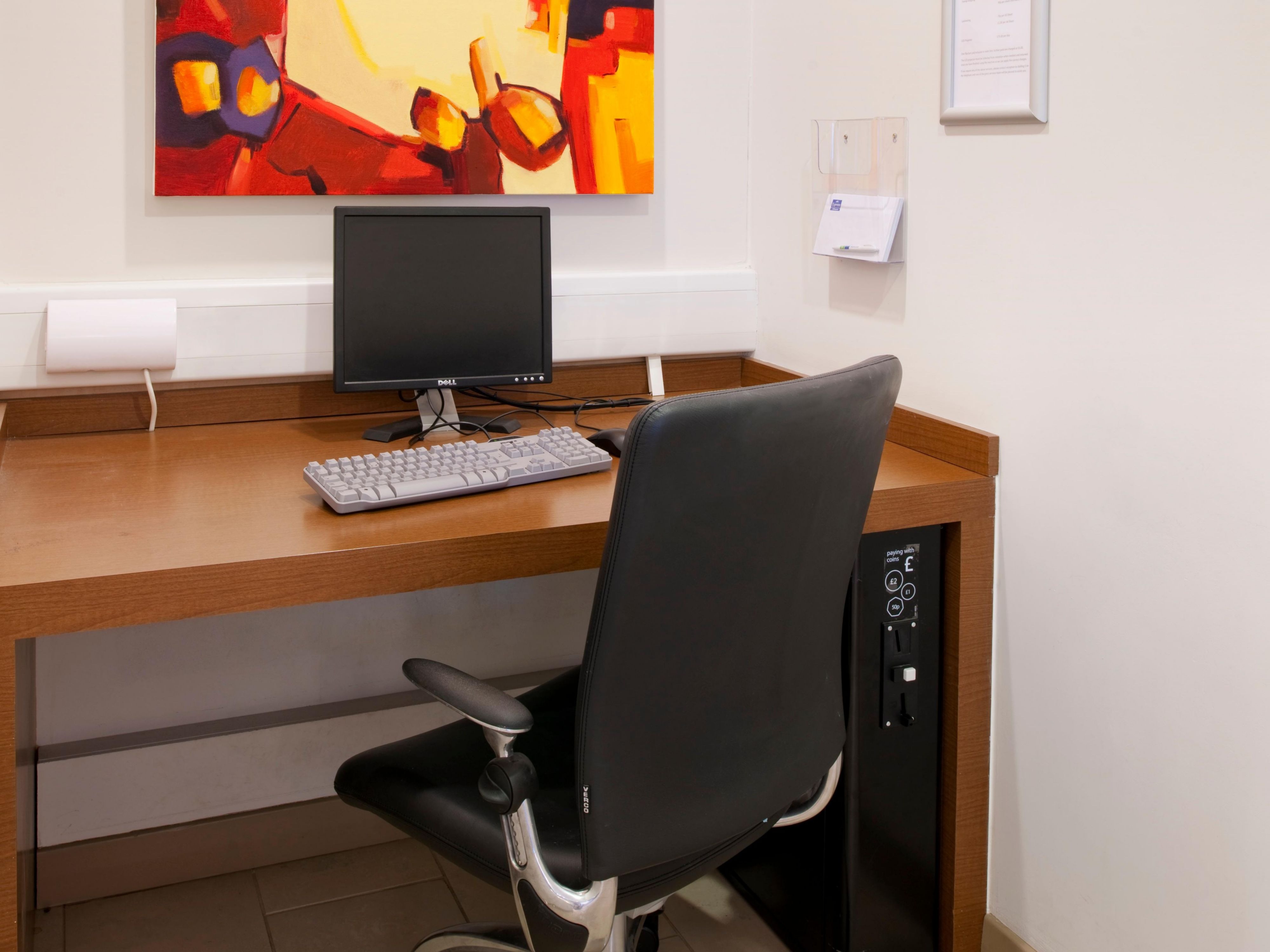 Our Business Centre is open 24/7 for your convenience