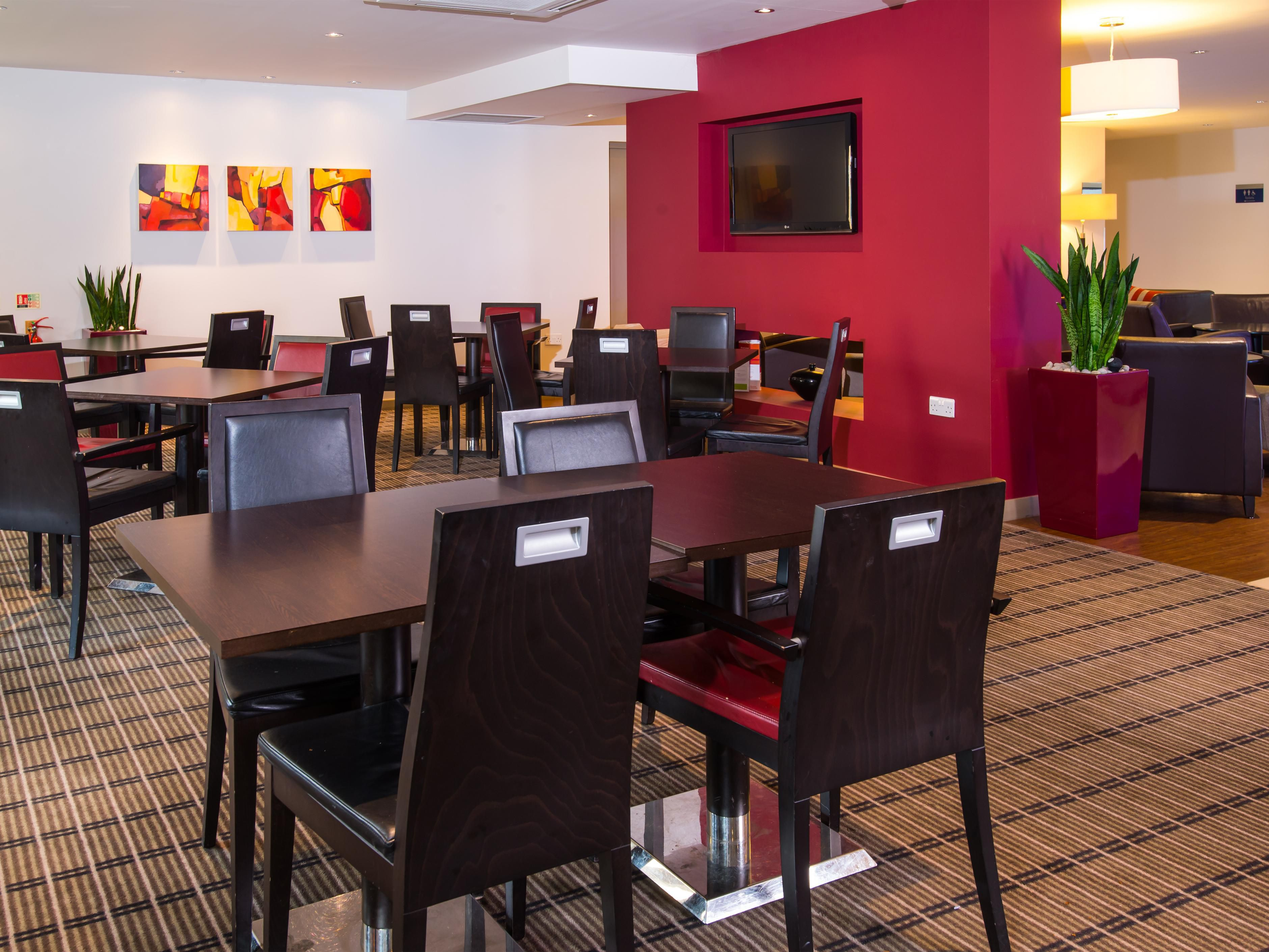 Dine in the hotel in our comfortable Great Room