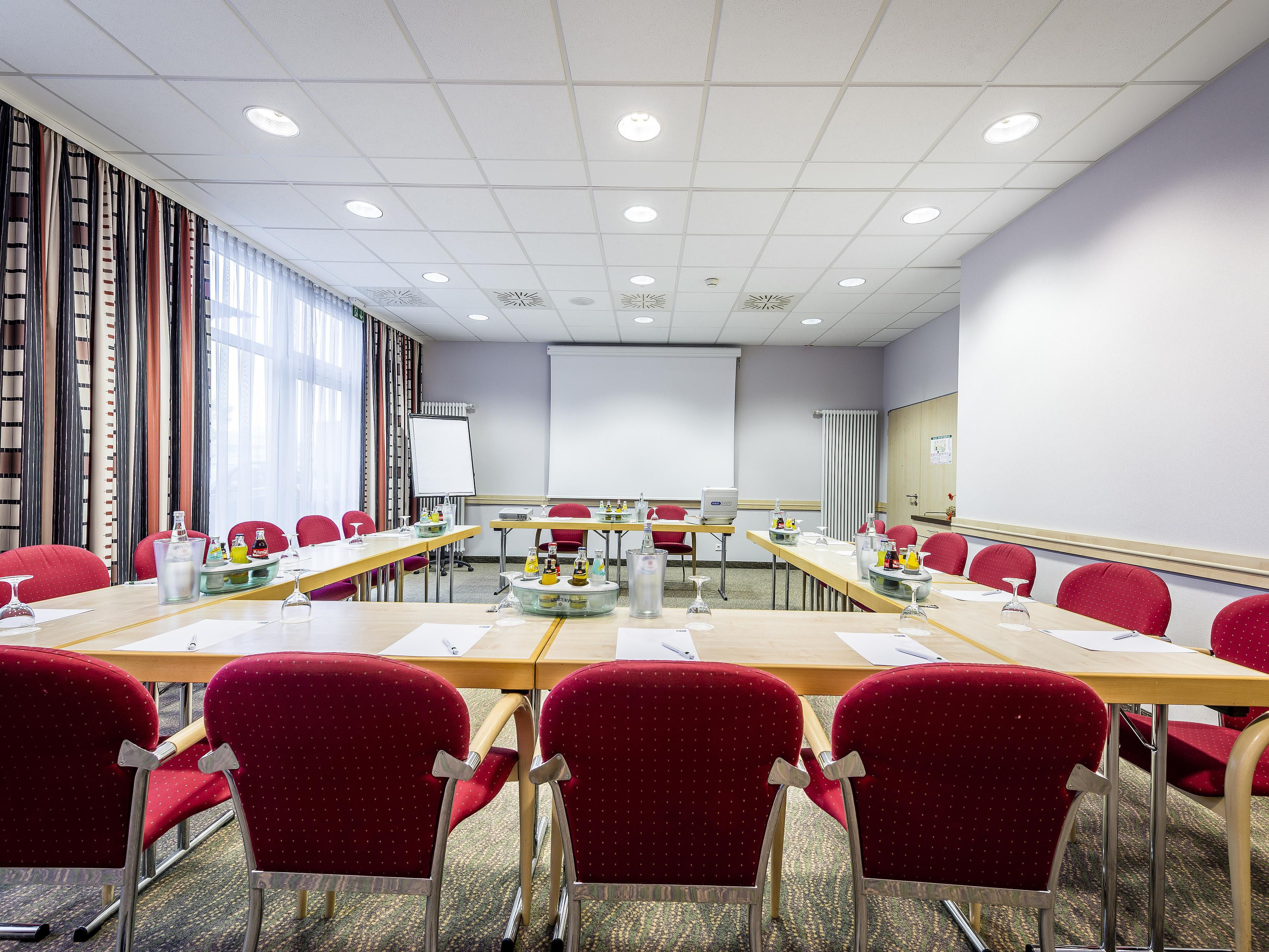 A good place to meet: our conference room