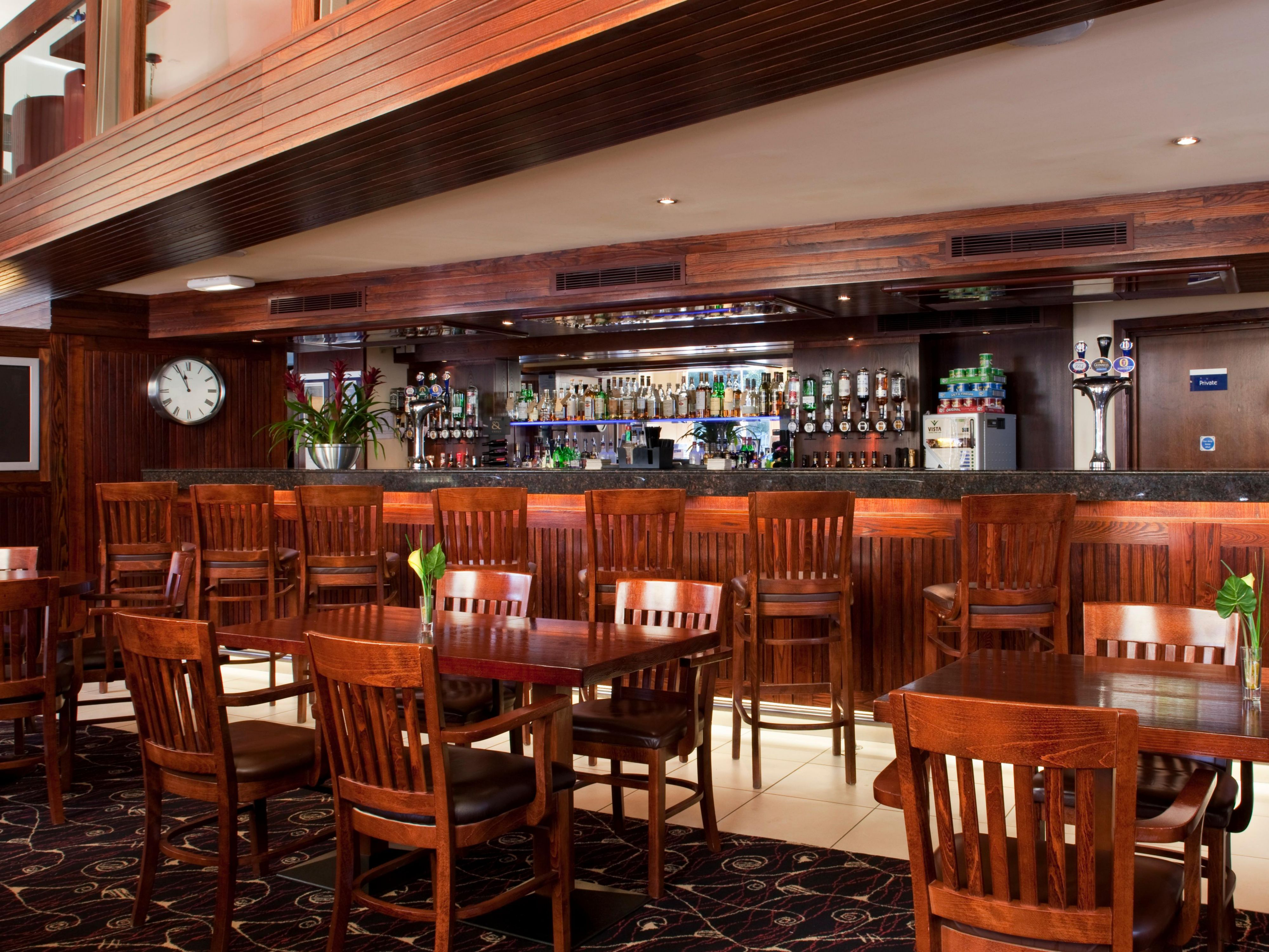 Bar and Lounge with a wide selection of drinks including whiskeys