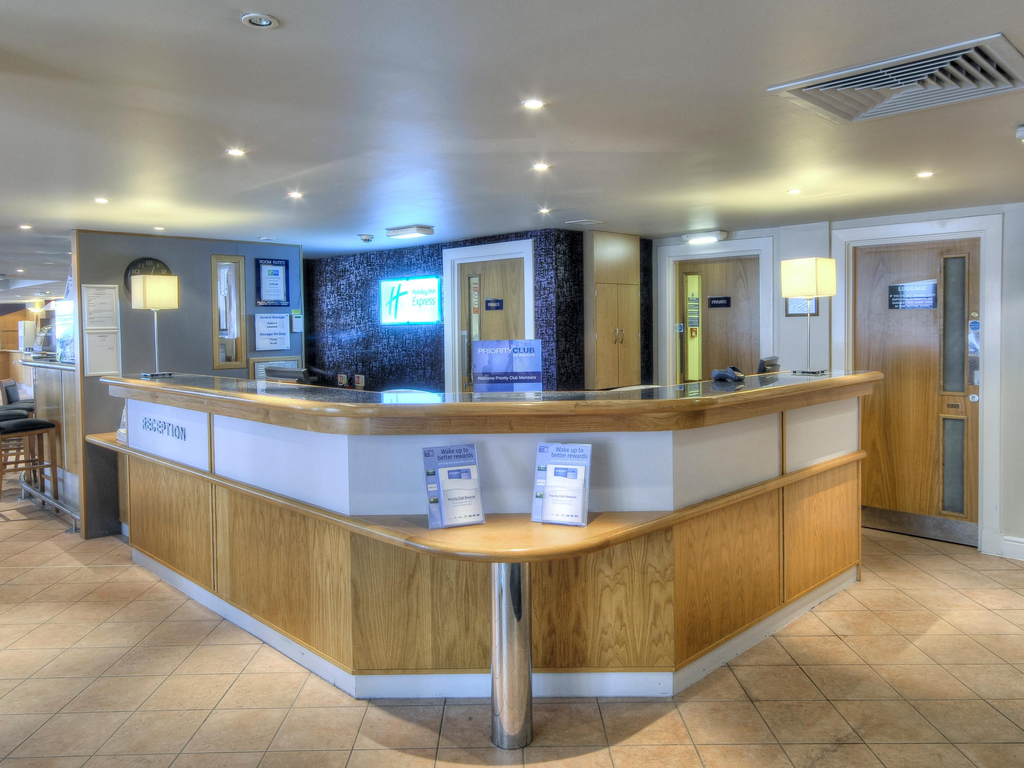 Our Reception team are always here for anything you need