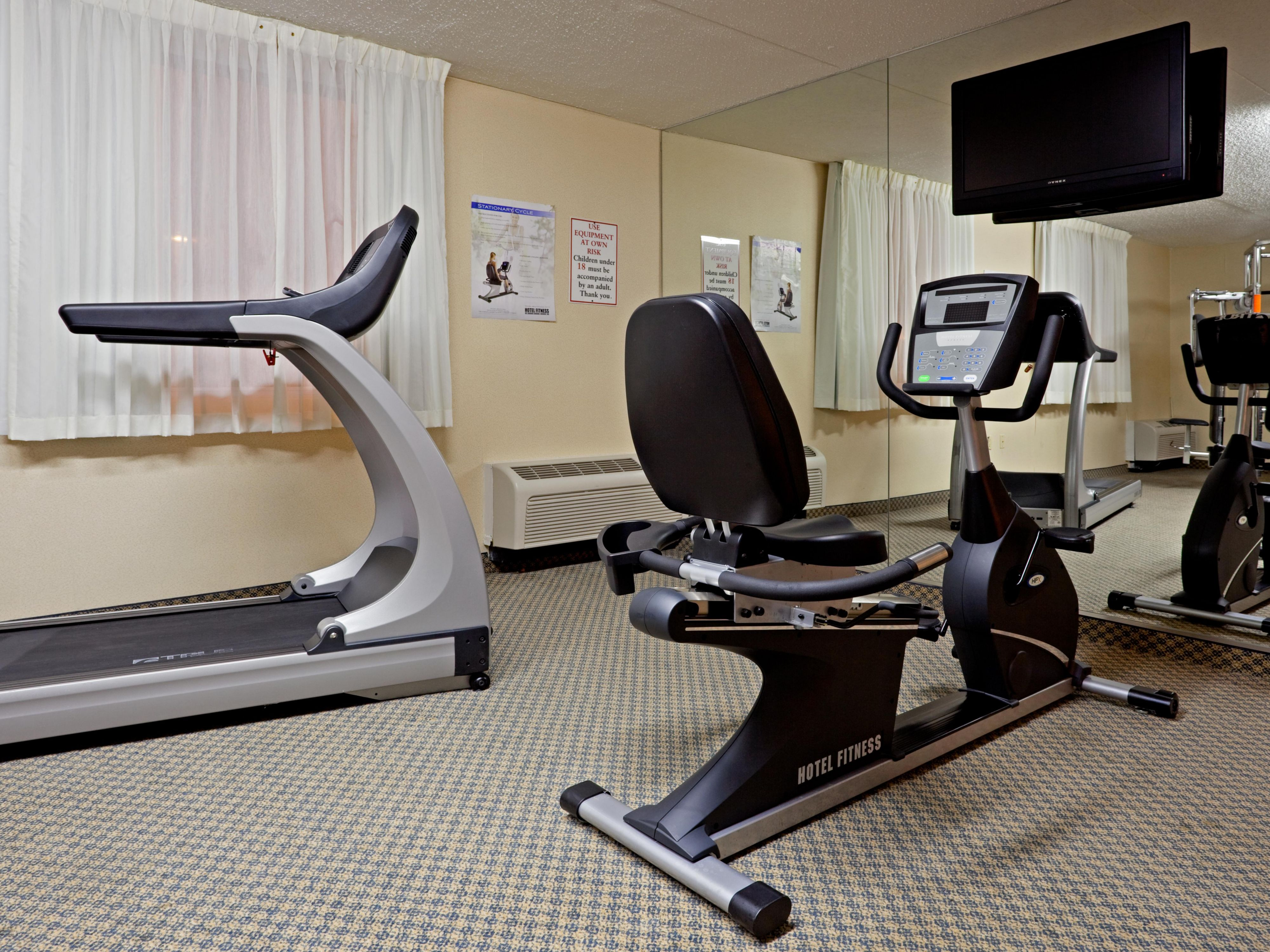 With a variety of fitness options our center is open 24hrs a day