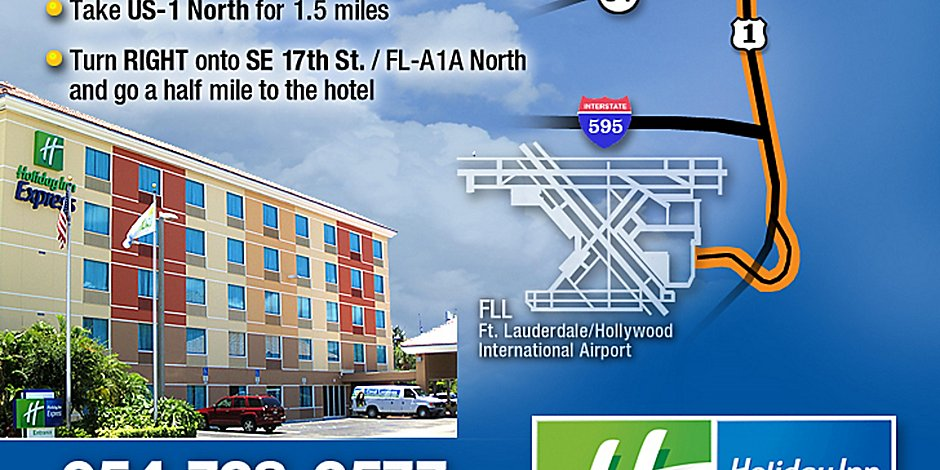 Holiday Inn Express Ft Lauderdale Cruise Airport Hotel In Fort