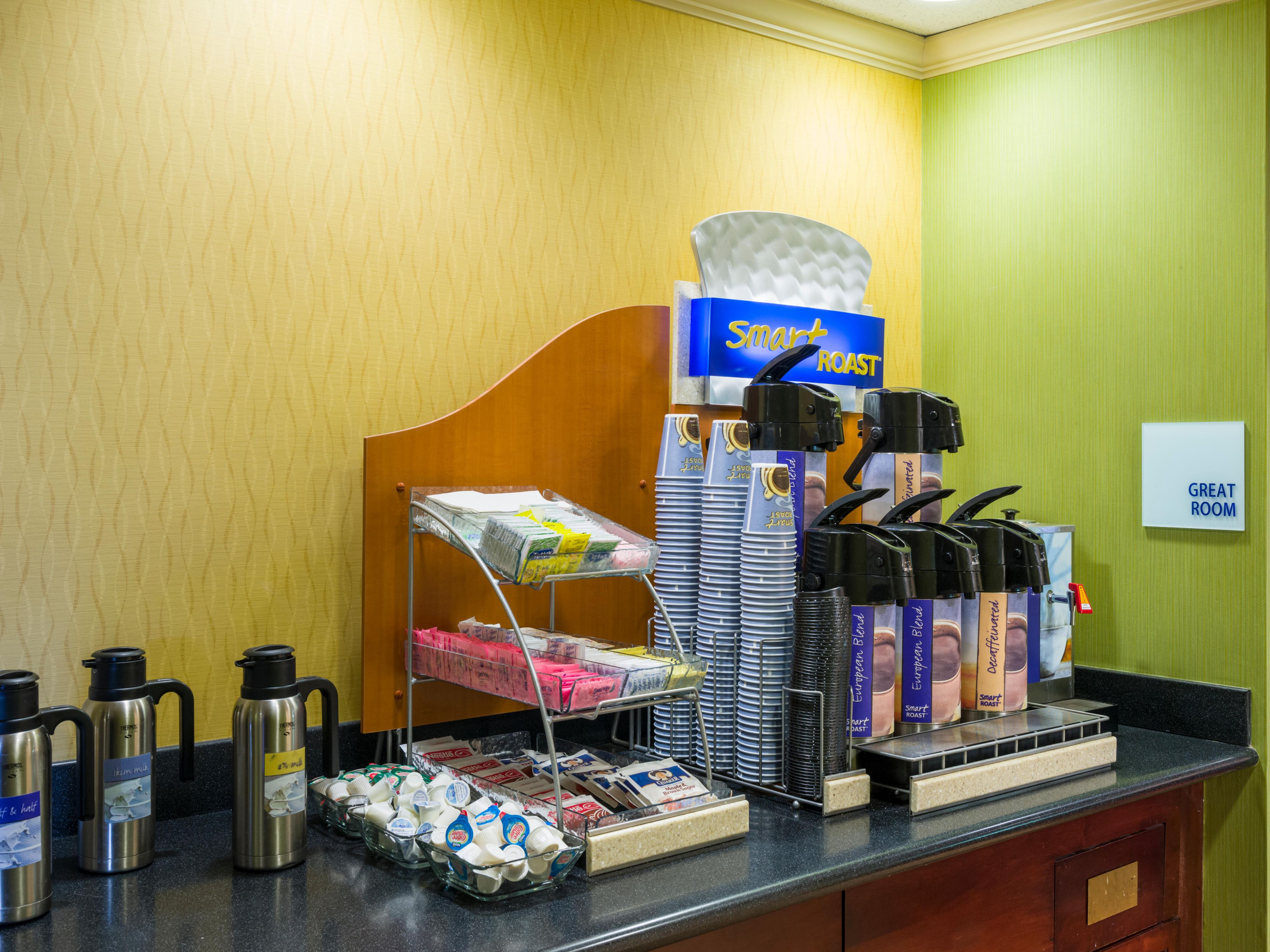 Coffee Station located in Breakfast Area