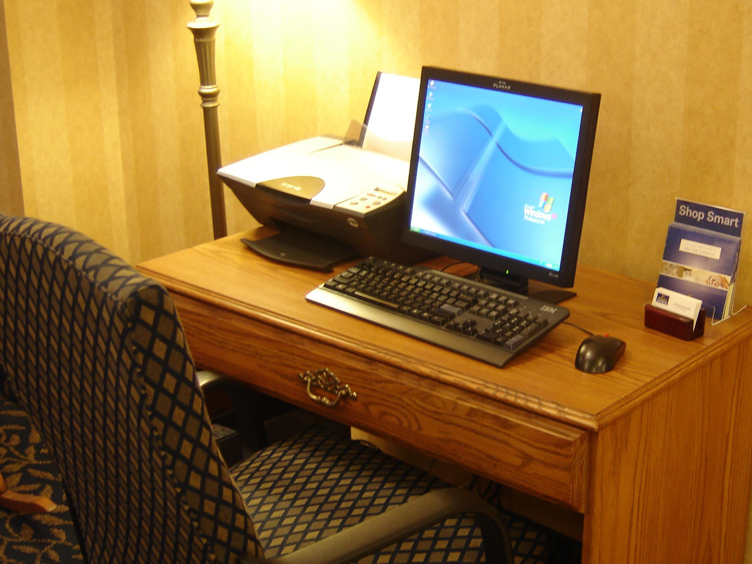 Business Center in our Great Room