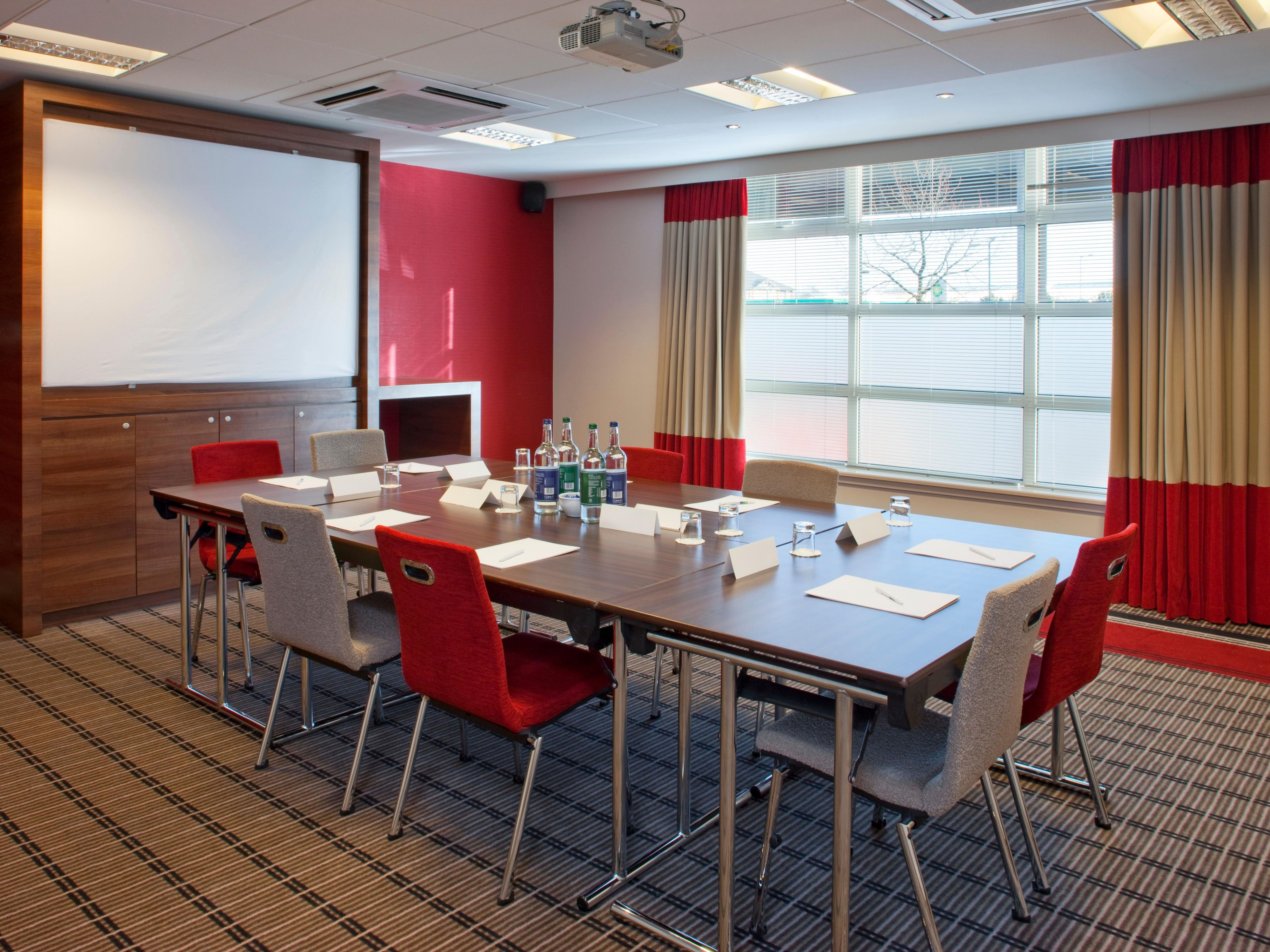 Channel your inner Alan Sugar in one of our Meeting Rooms