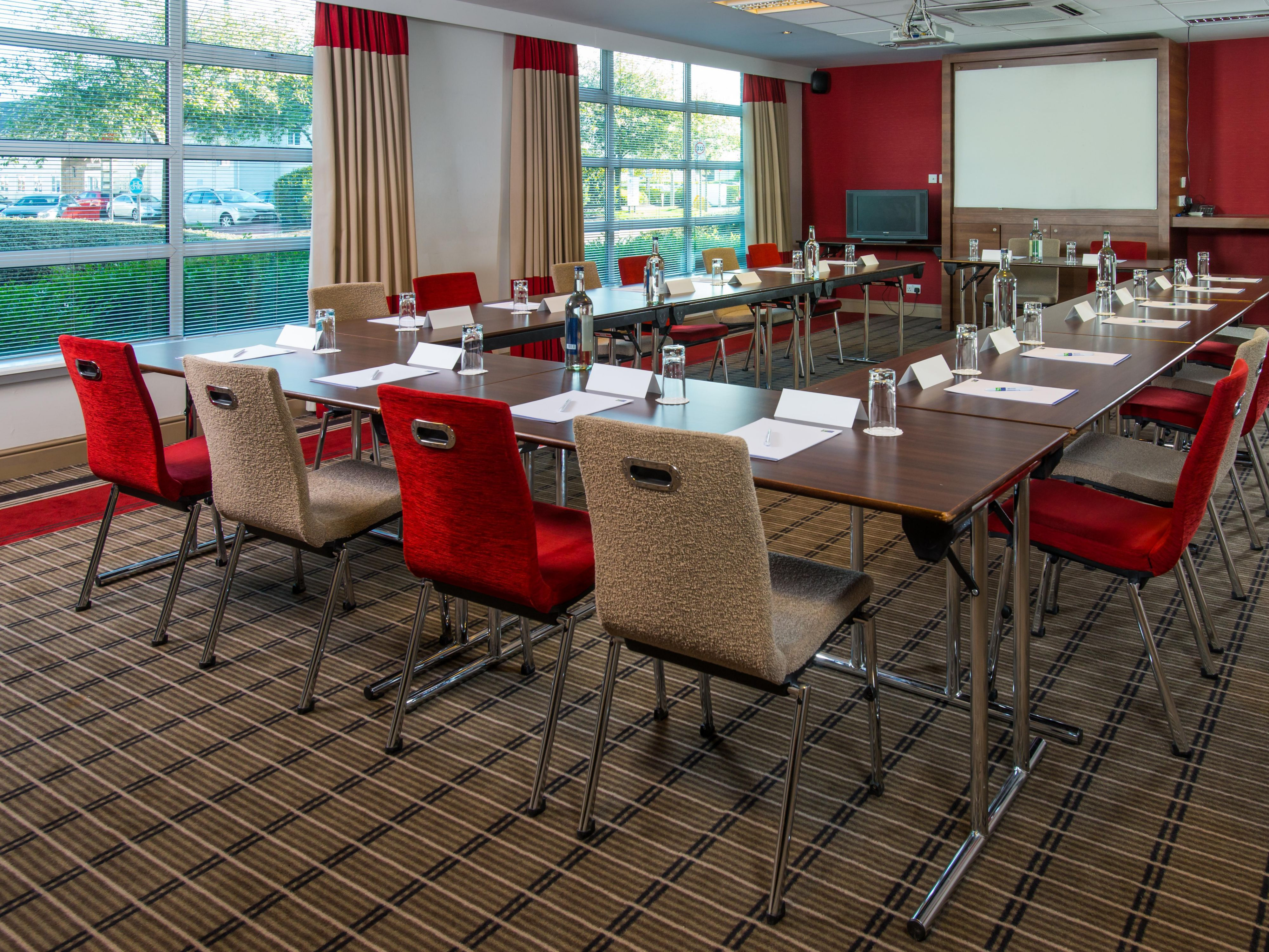 We can accommodate up to 70 delegates in our Saltire Room