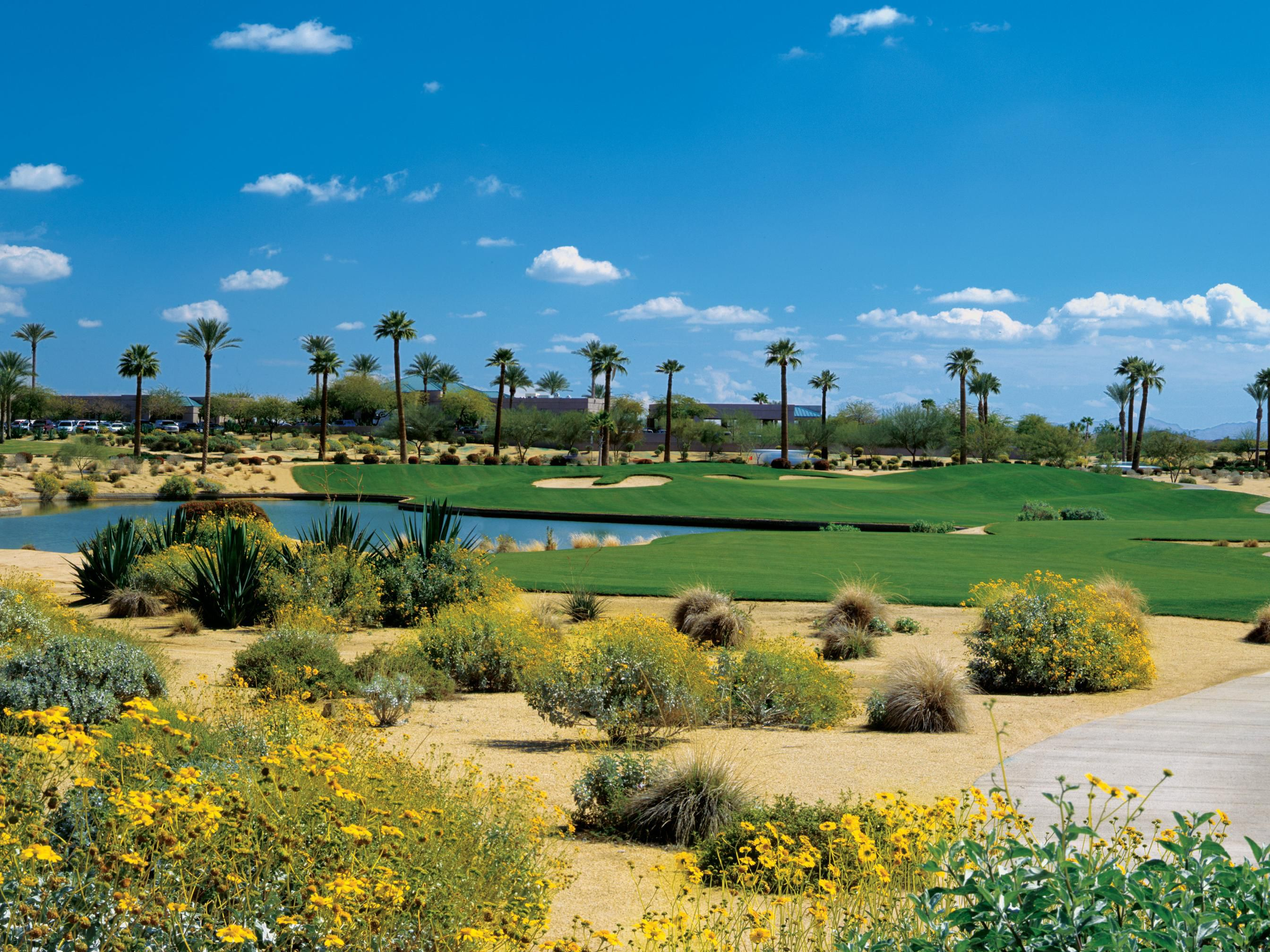 Palm valley Golf Course, just minutes away from the hotel
