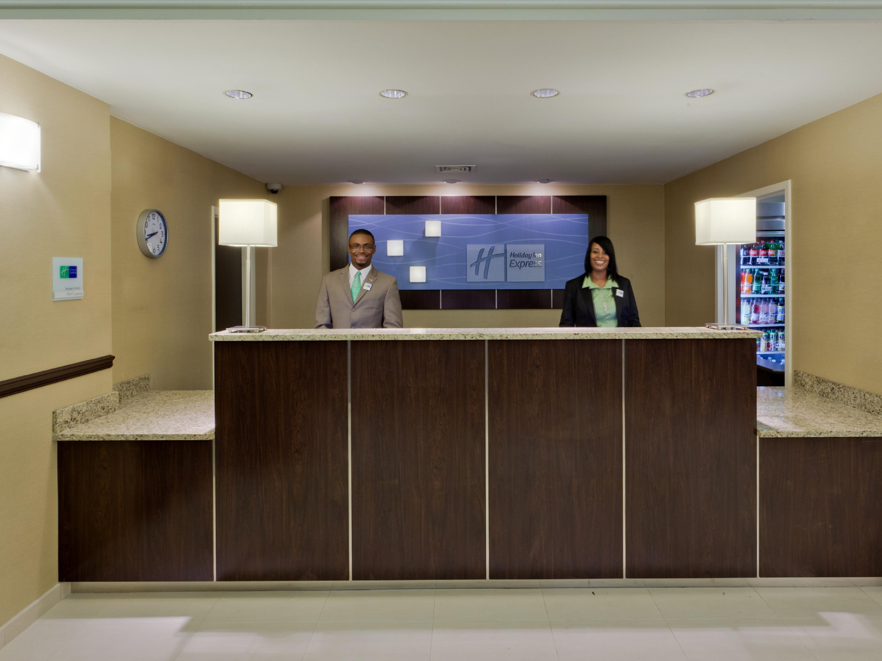 Welcome to the Holiday Inn Express BWI Airport West