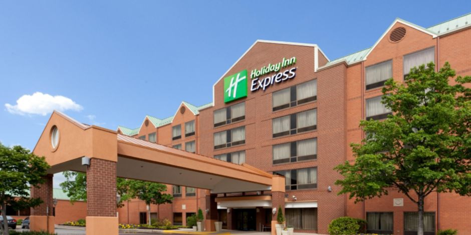 You Have Arrived At The Holiday Inn Express Bwi Airport West