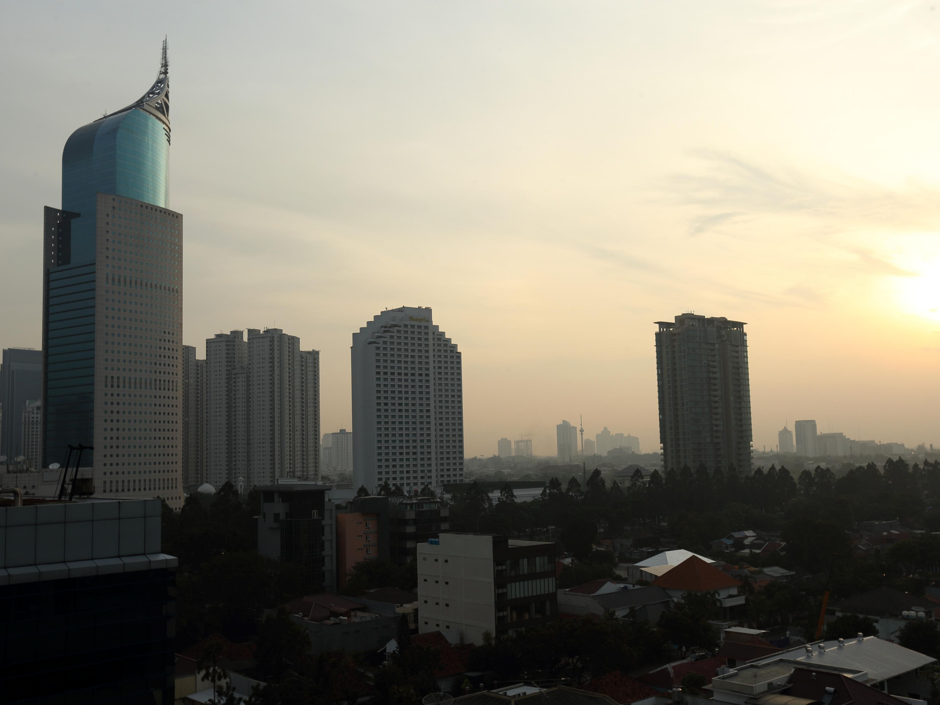 View from Holiday Inn Express Jakarta Thamrin Hotel