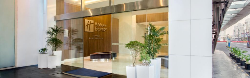 Holiday Inn Express Jakarta Pluit Citygate Hotel Enterance