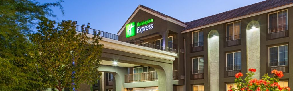 Welcome To The Holiday Inn Express Hotel Lancaster Ca