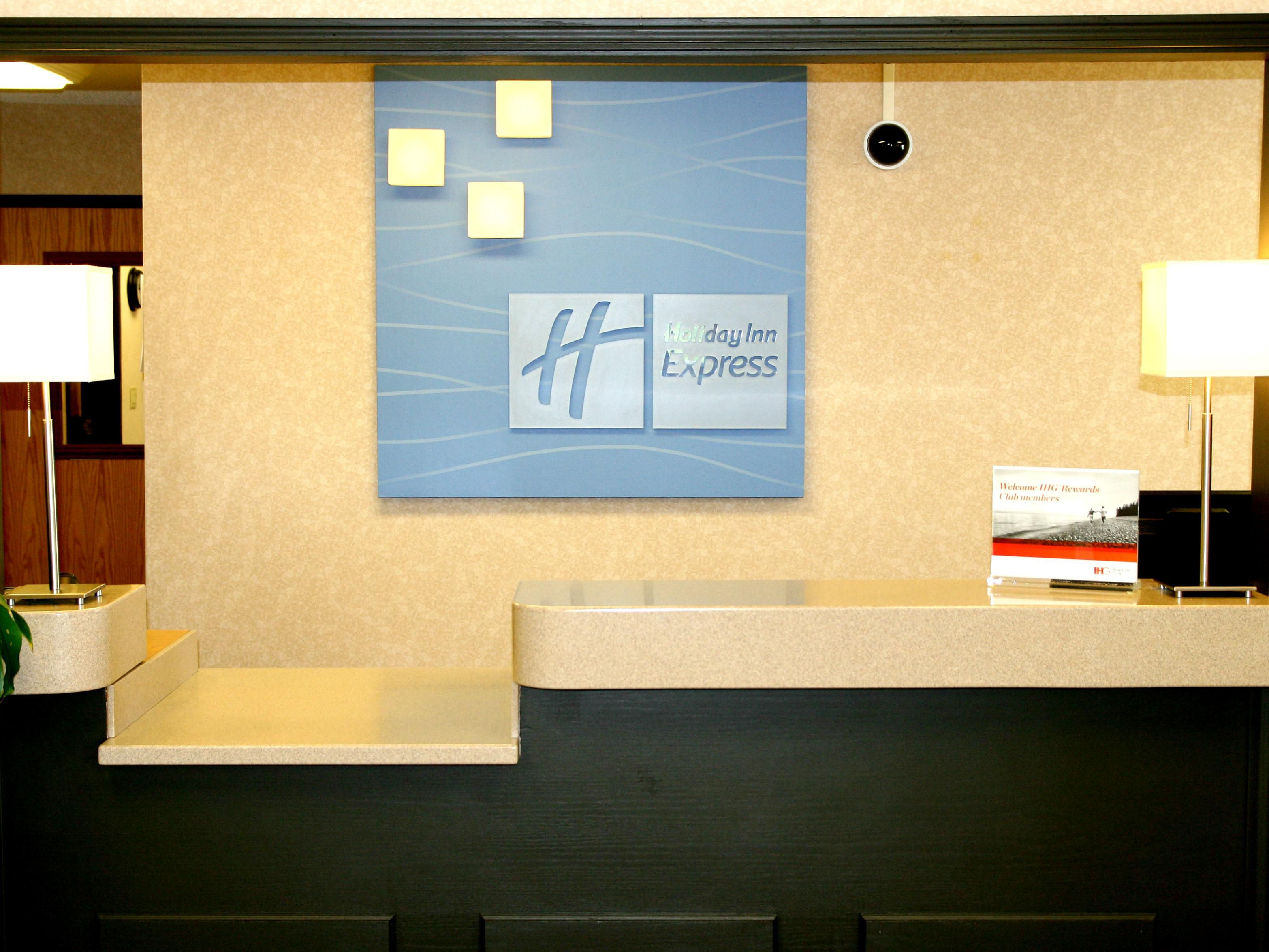 Stop by our Front Desk to take advantage of IHG Rewards!