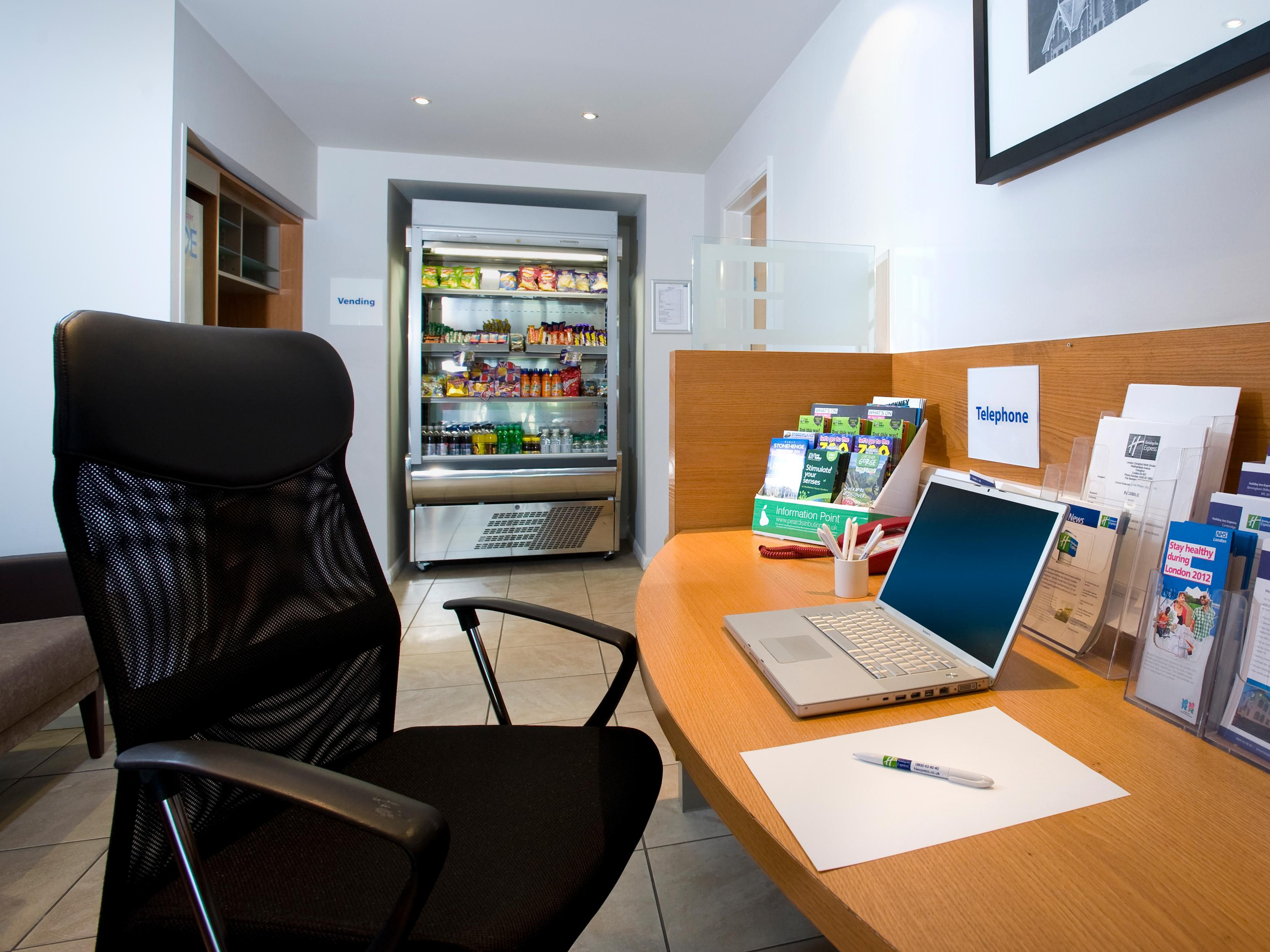 Our Business Centre is located on the ground floor