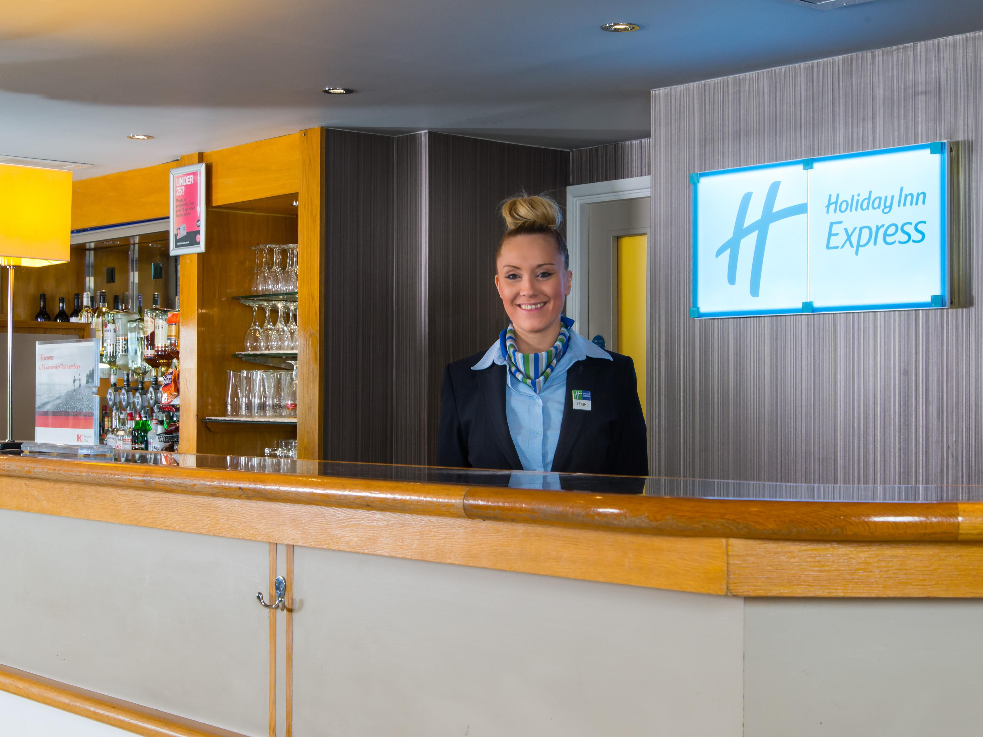 Our friendly Reception team are always here for anything you need