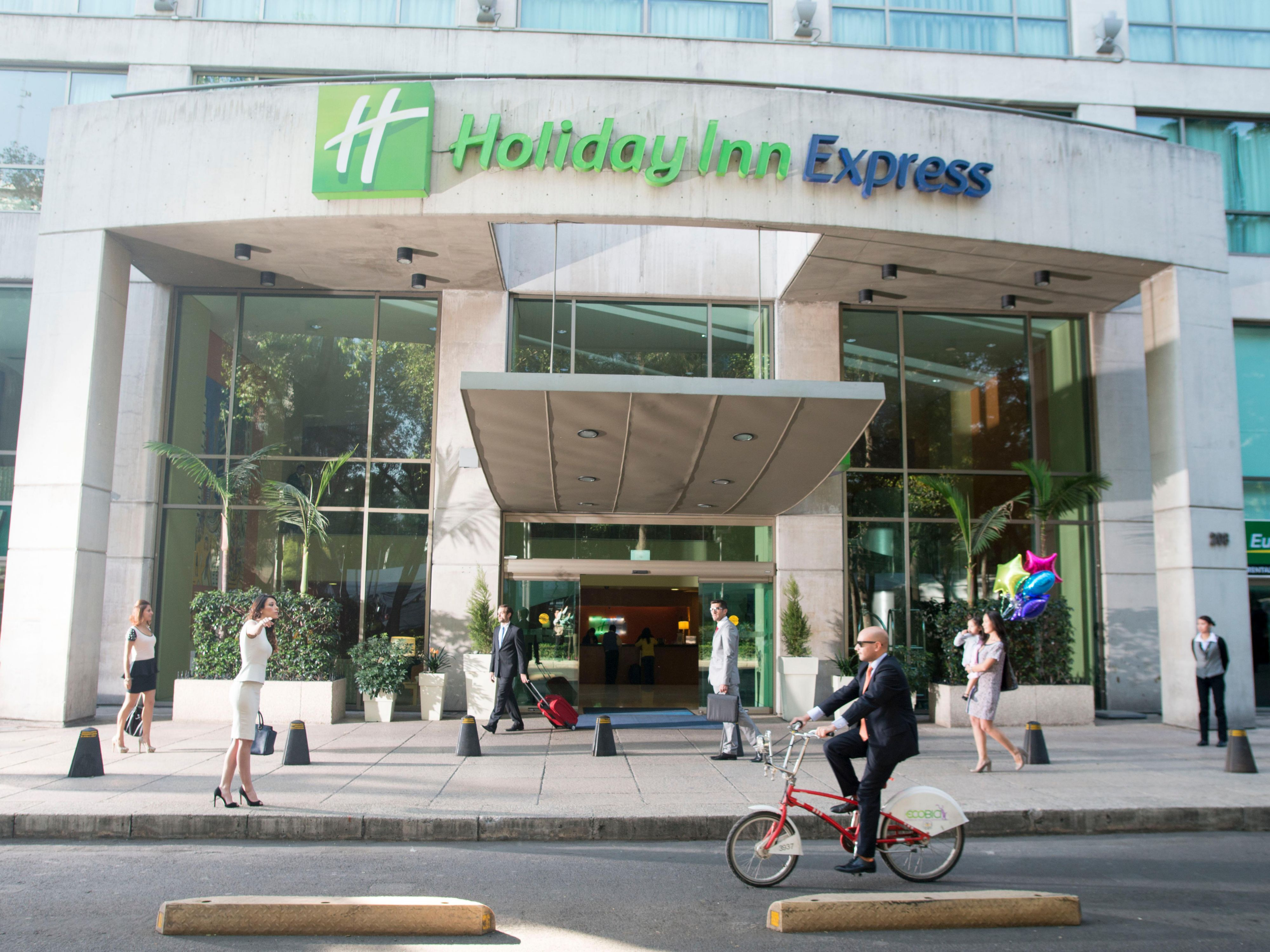 Holiday inn express mexico reforma hotel ihg for Reforma express
