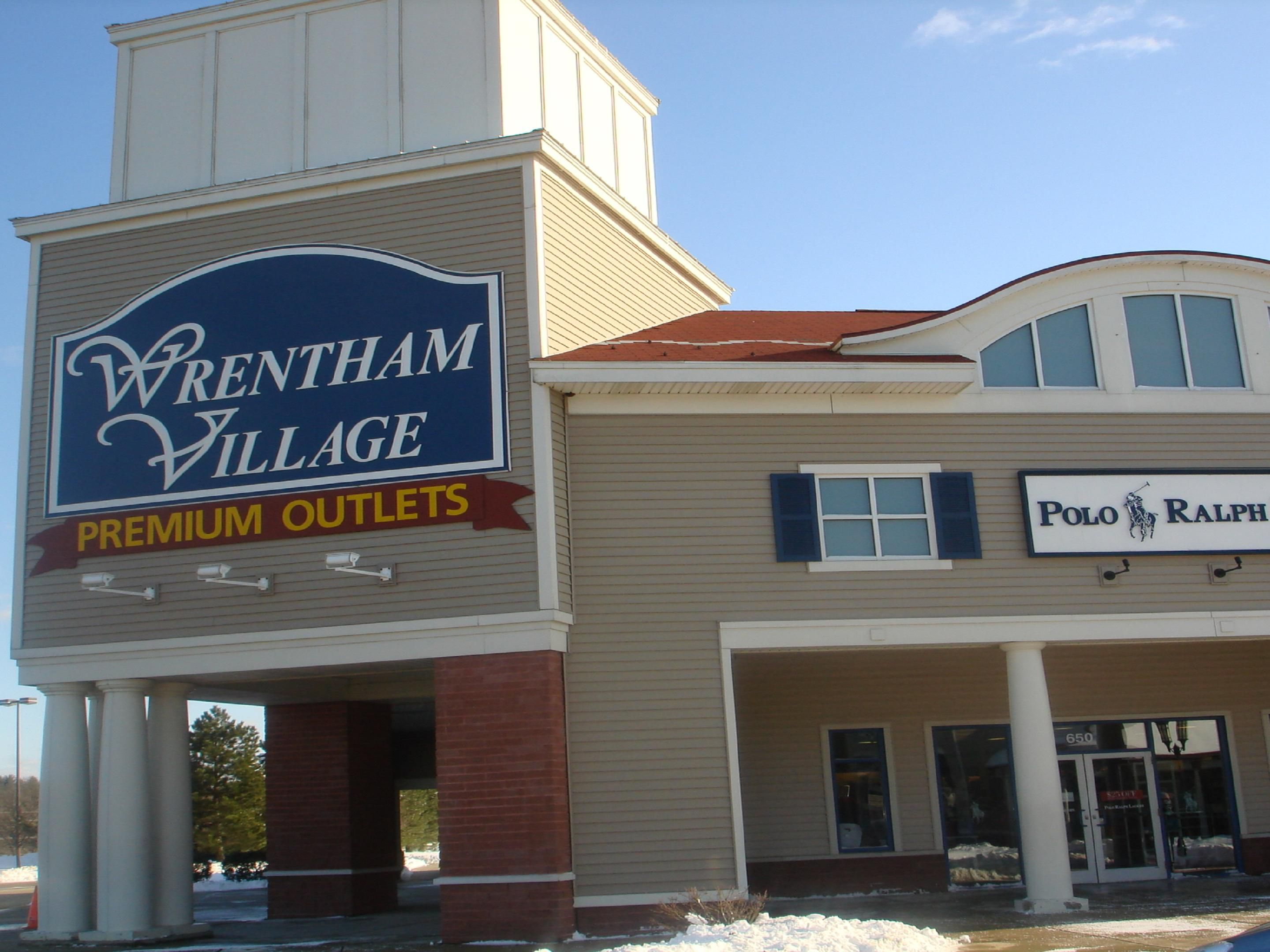 Just a 15 minute drive is the Wrentham Village Premium Outlets