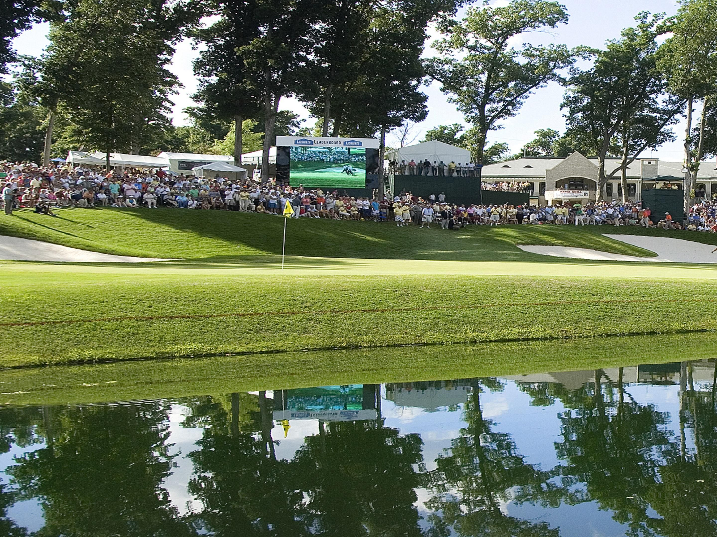 John Deere Classic 18th Hole at TPC