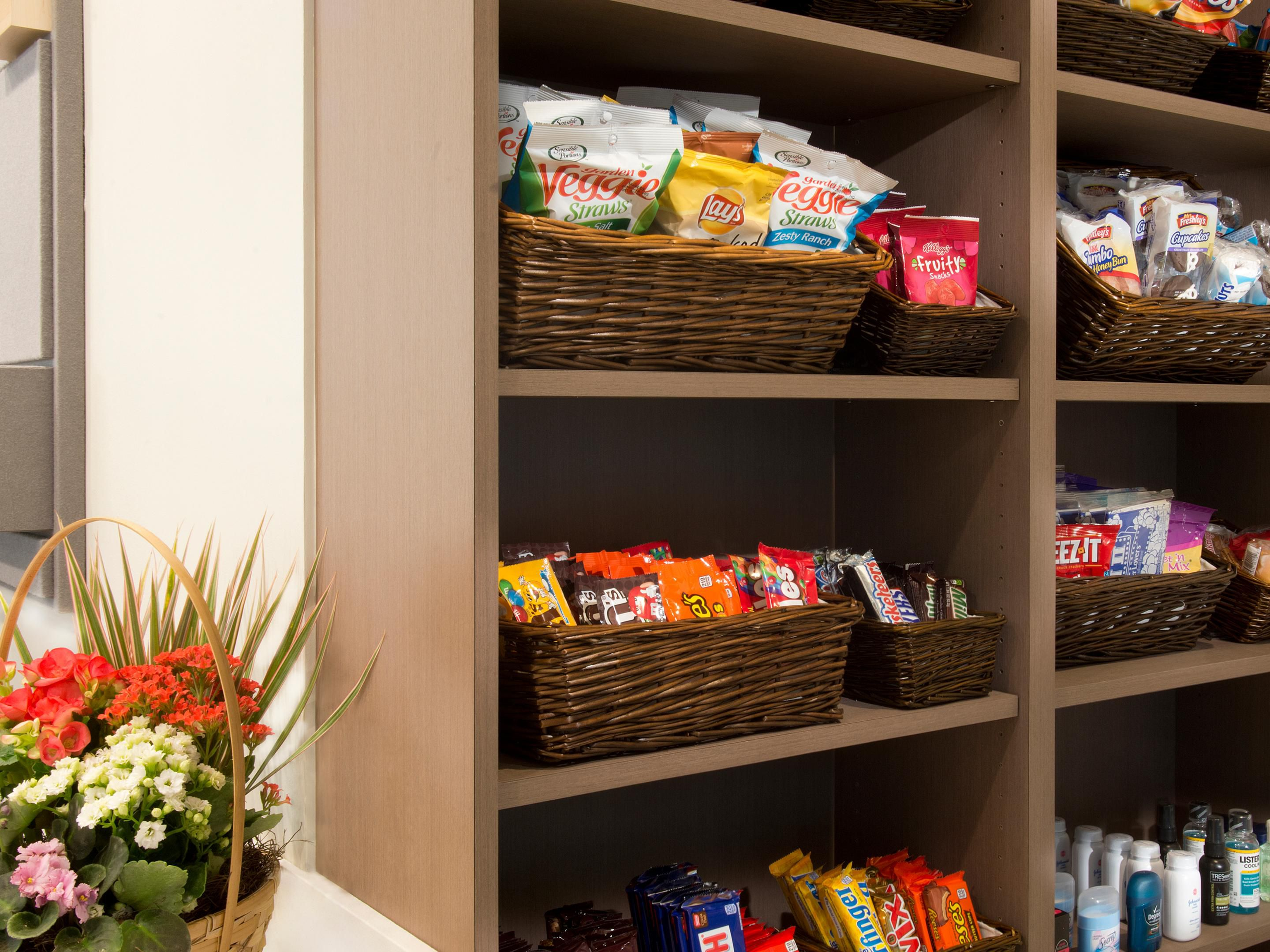 Hotel Front Desk Pantry