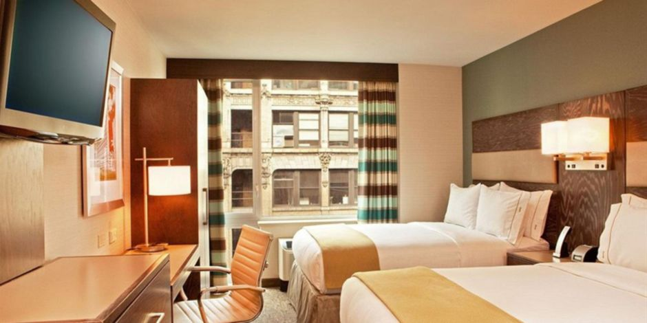 hotel in manhattan times square south holiday inn express