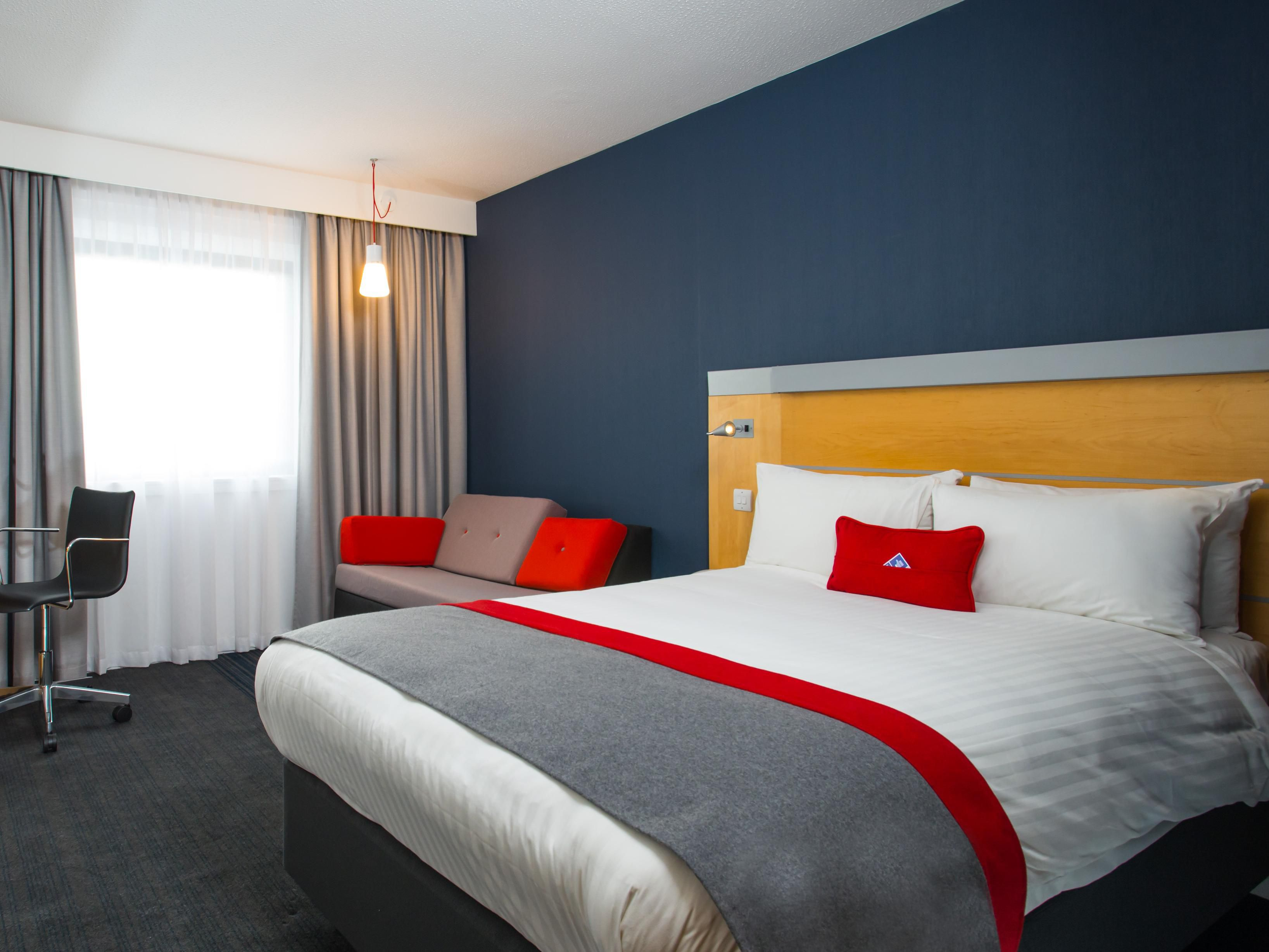 Our newly refurbished rooms are stylish and modern