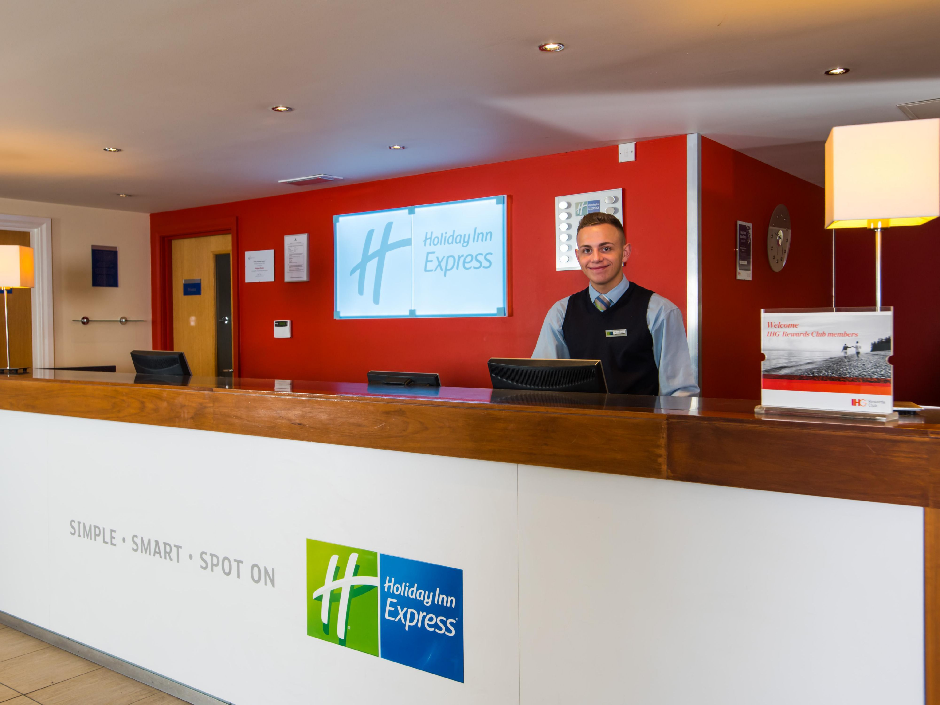 Our friendly team are here for you from check-in until check-out