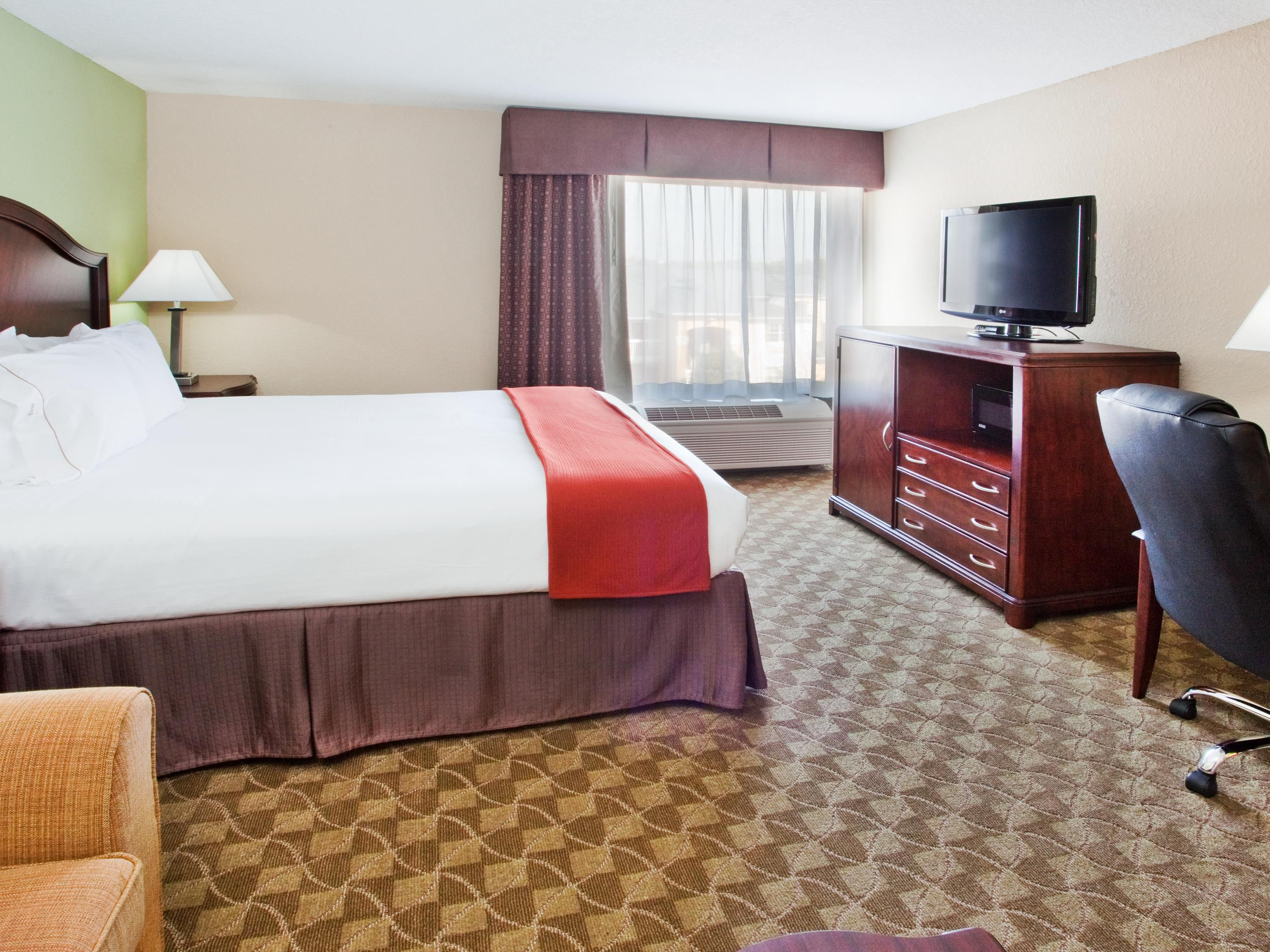 Our rooms are outfitted with all the essentials and more!