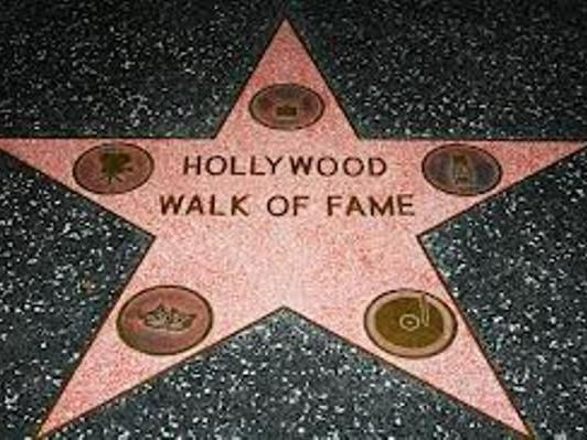 The Hollywood Walk of Fame Holiday Inn Express Hotel